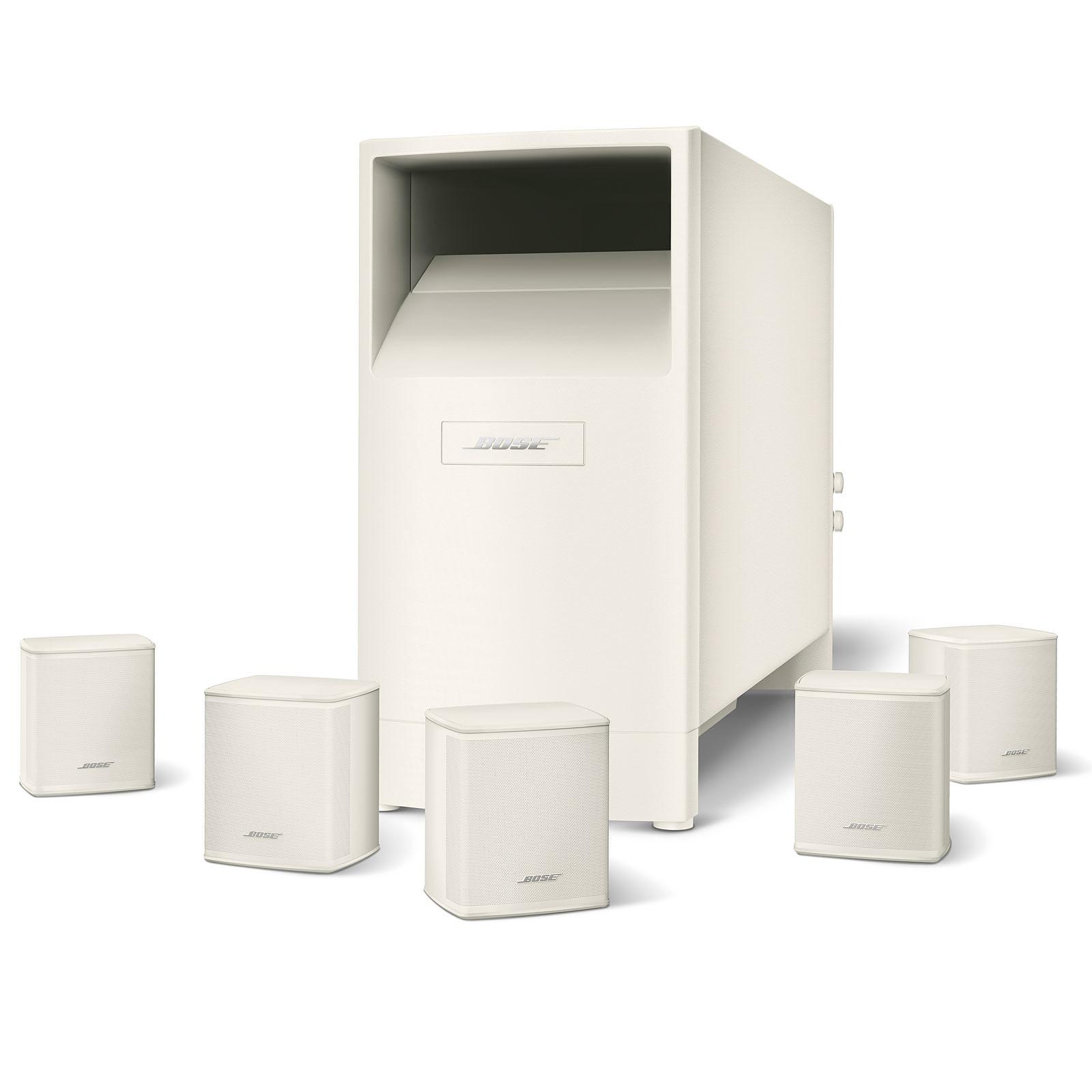 Bose Acoustimass 6 Séries V Blanc