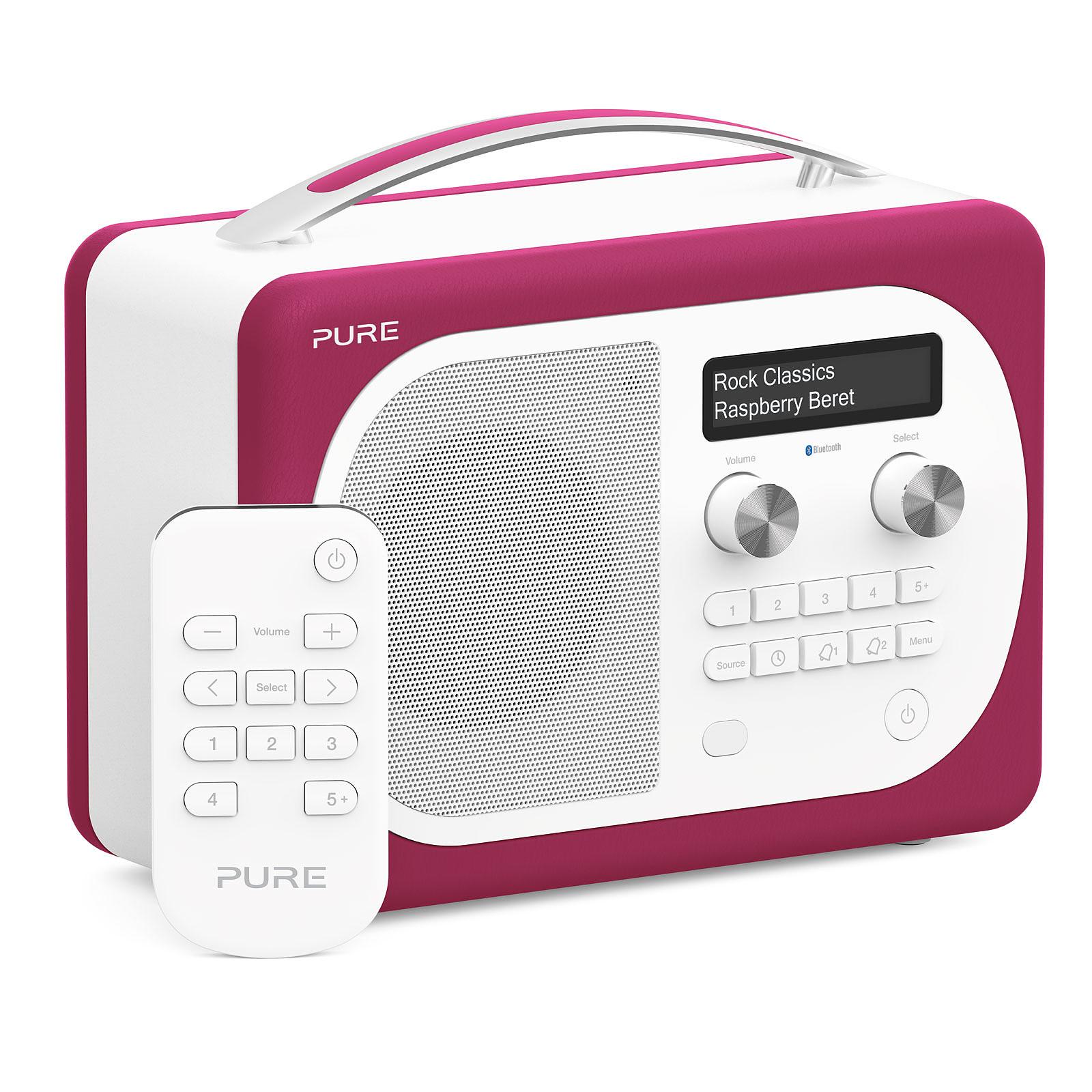 Pure Evoke D4 Mio Bluetooth Raspberry