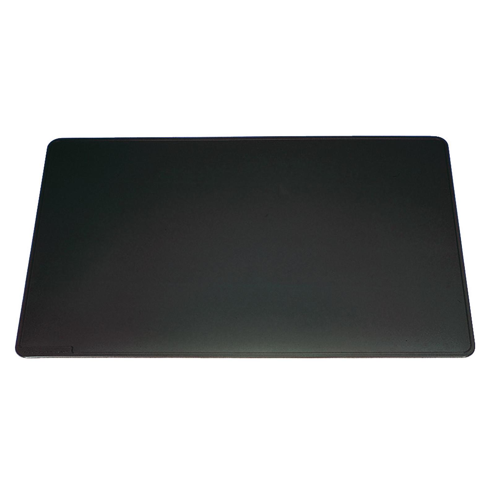 DURABLE Sous-main avec rainures décoratives 65 x 52  cm coloris noir