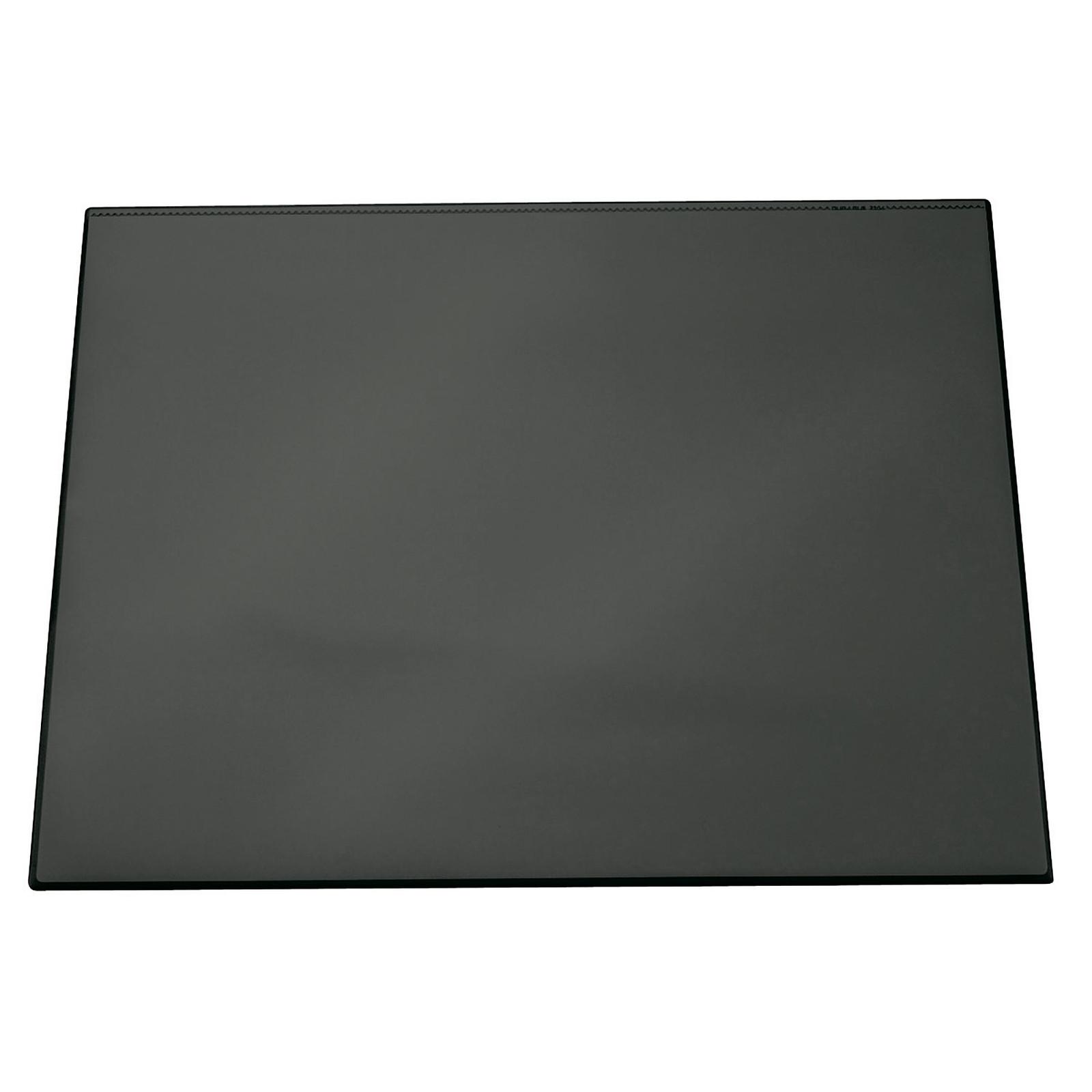 DURABLE Sous-main coloris noir avec rabat transparent 65 x 52 cm