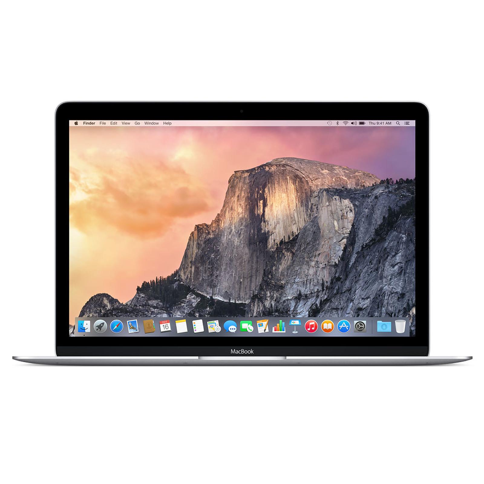 "Apple MacBook 12"" Argent (MF855F/A)"
