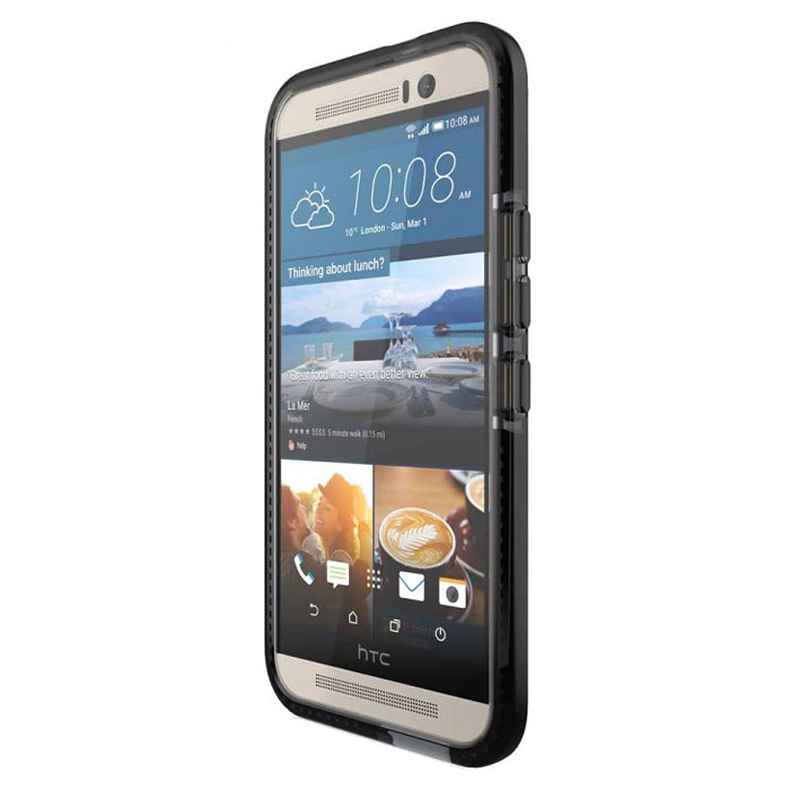 Tech21 Evo Check Noir HTC One M9
