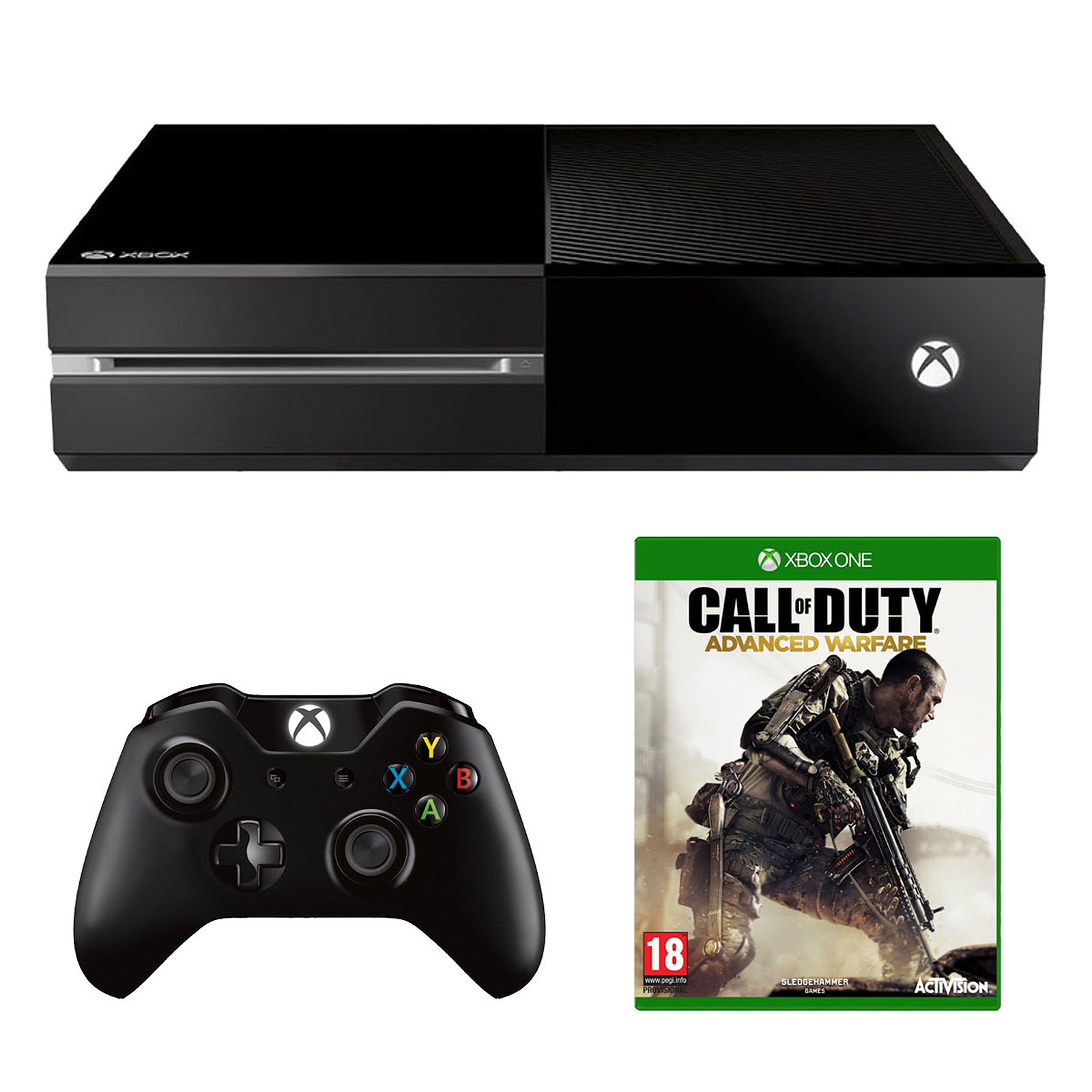 Microsoft Xbox One + COD : Advanced Warfare
