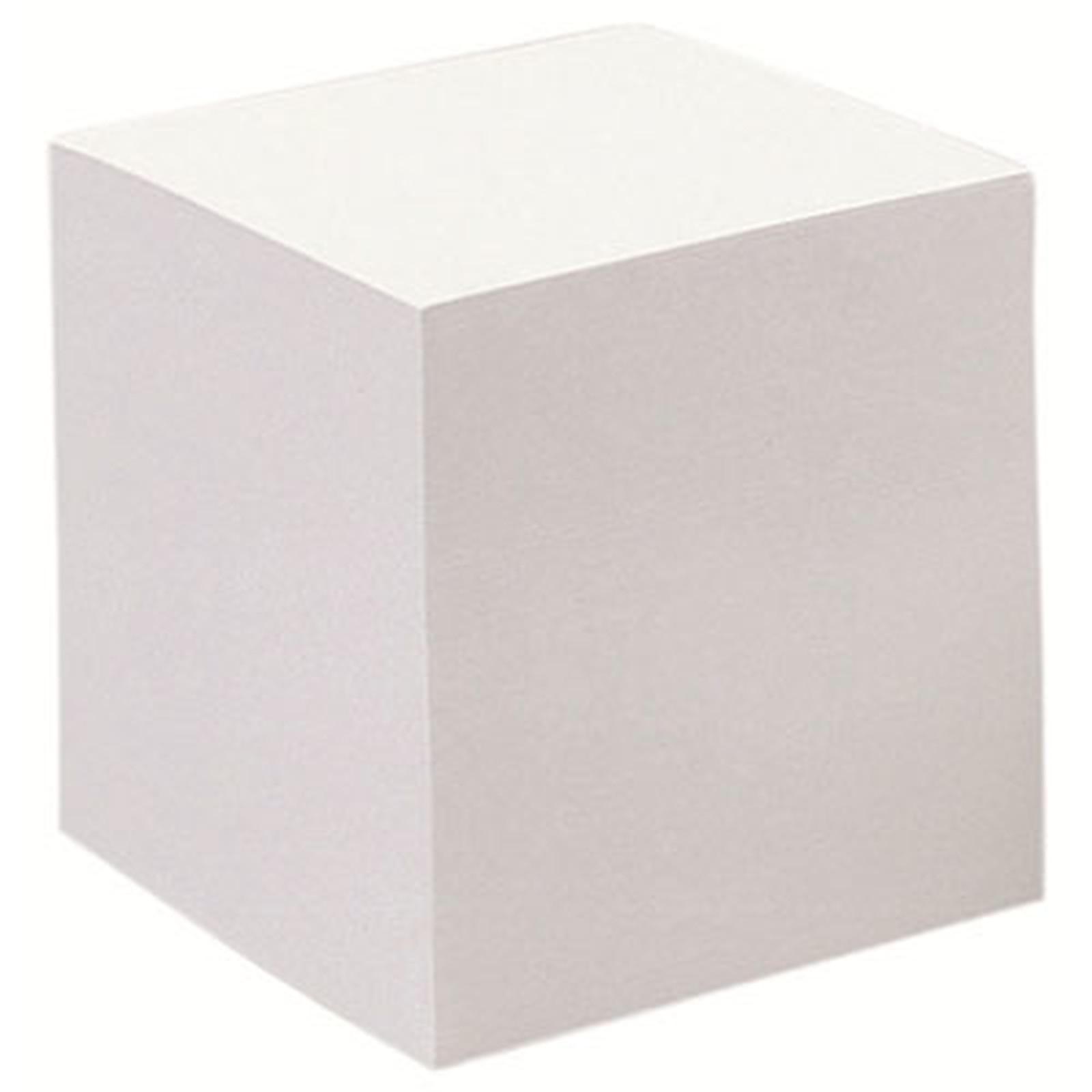 Bloc-Cube papier blanc