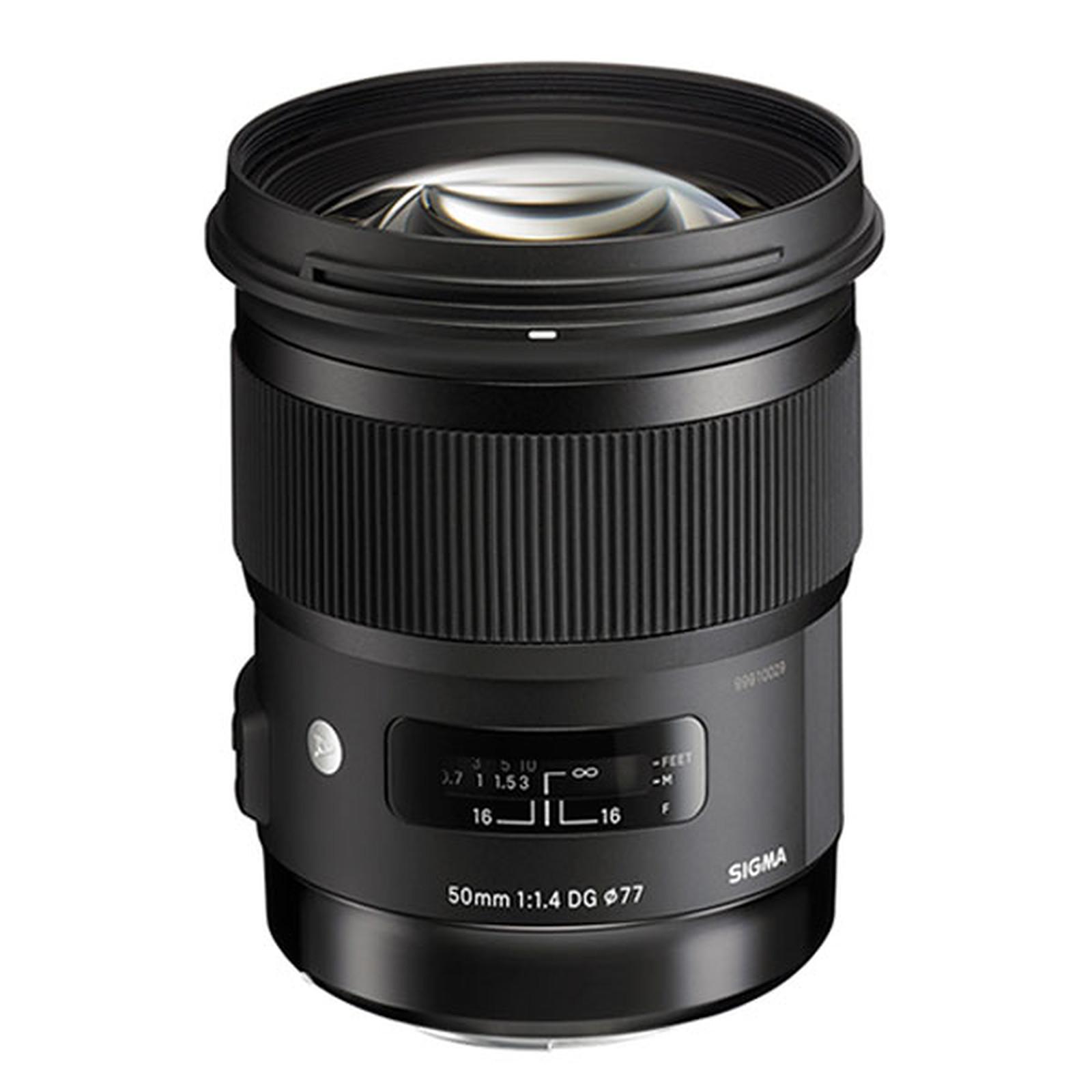 Sigma 50mm F1,4 DG HSM ART monture Nikon