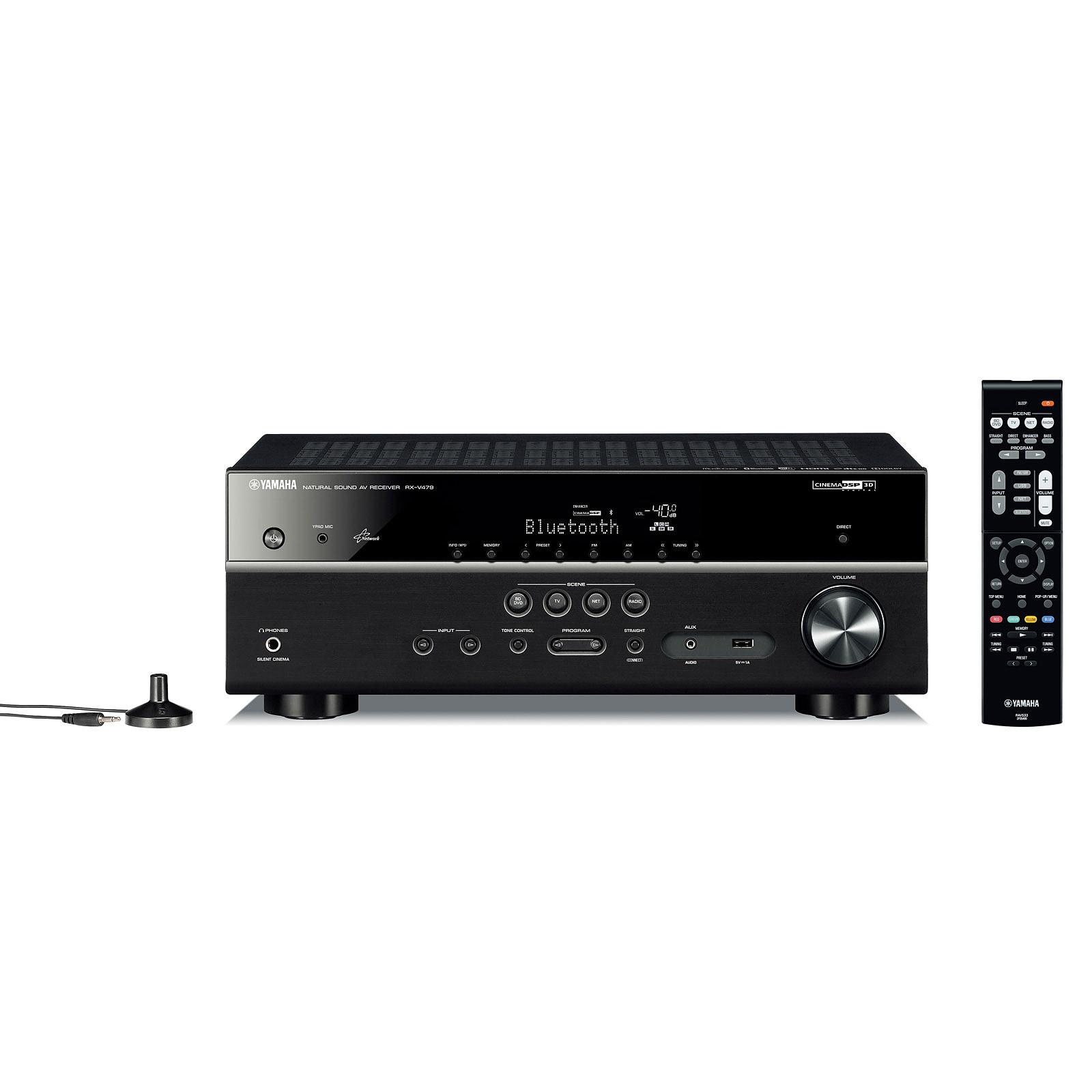 Yamaha MusicCast RX-V479 Noir
