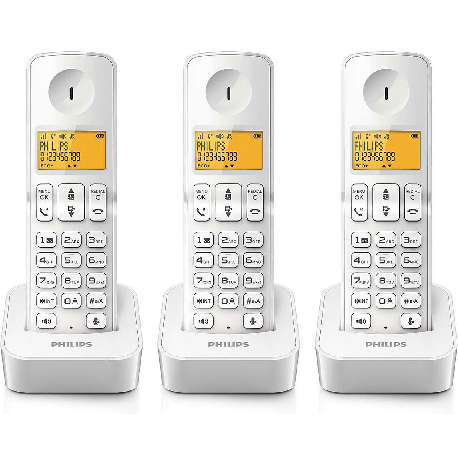 Philips D2103W/FR Blanc
