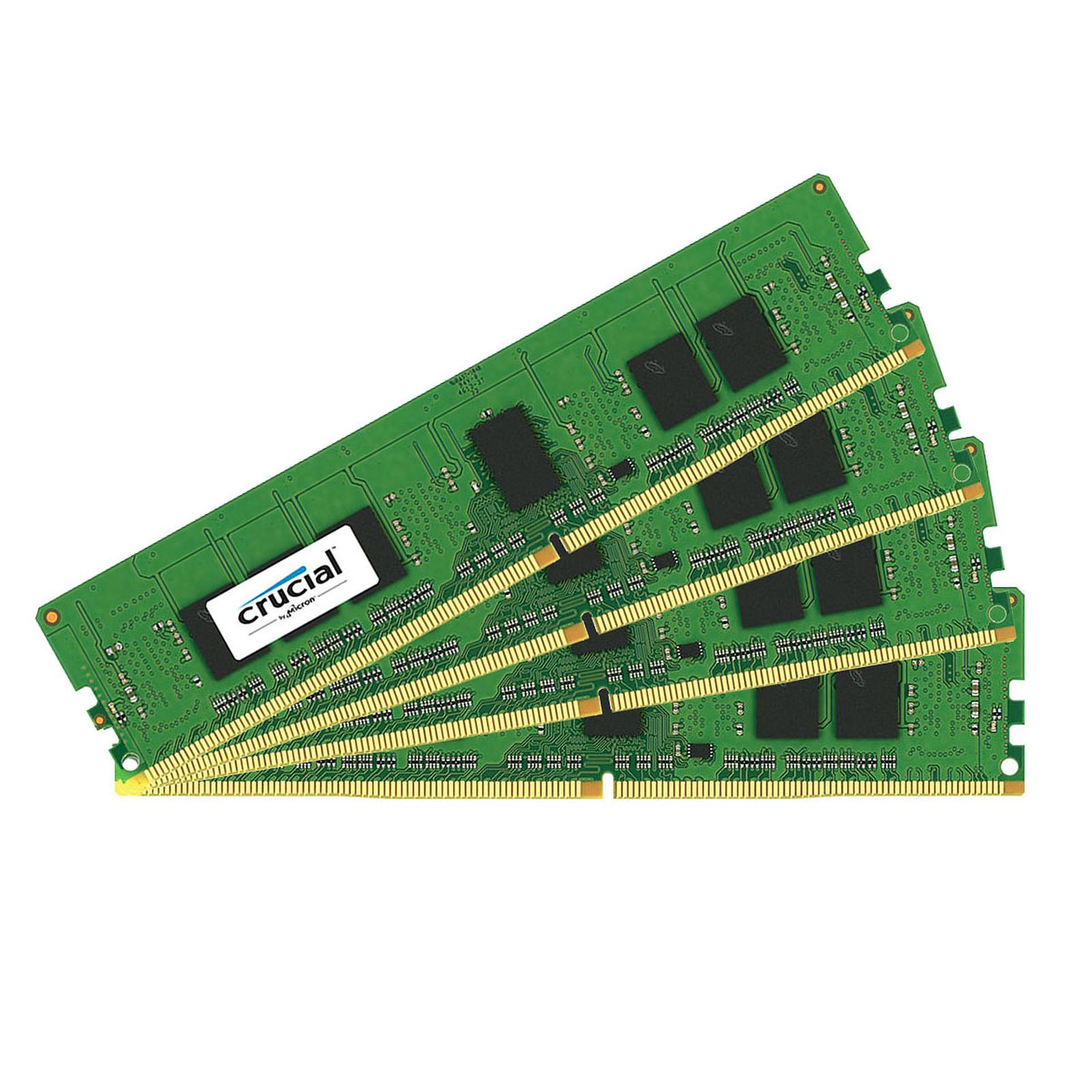 Crucial DDR4 16 Go (4 x 4 Go) 2133 MHz CL15 ECC SR X8