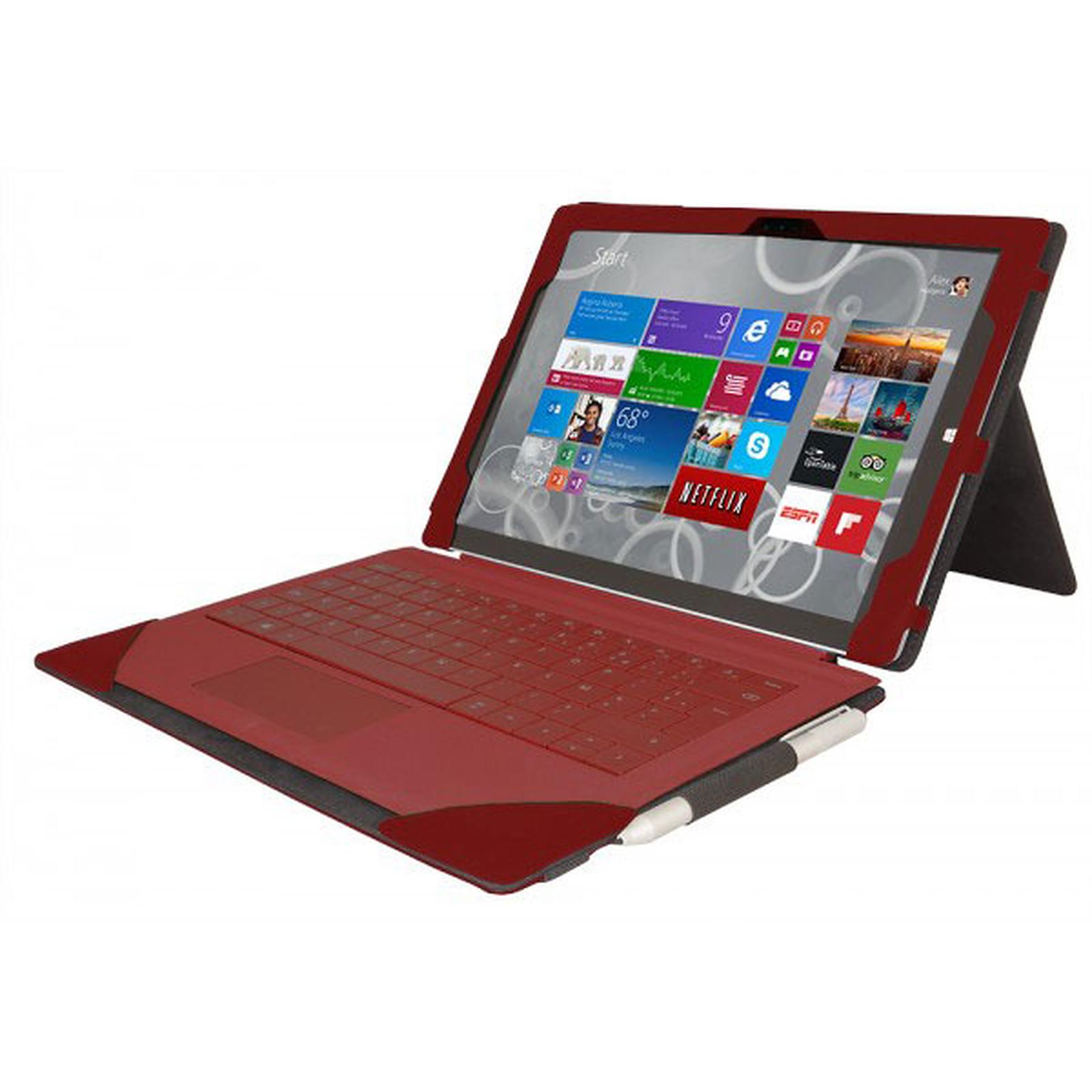 Urban Factory Elegant Folio Rouge pour Surface Pro 3