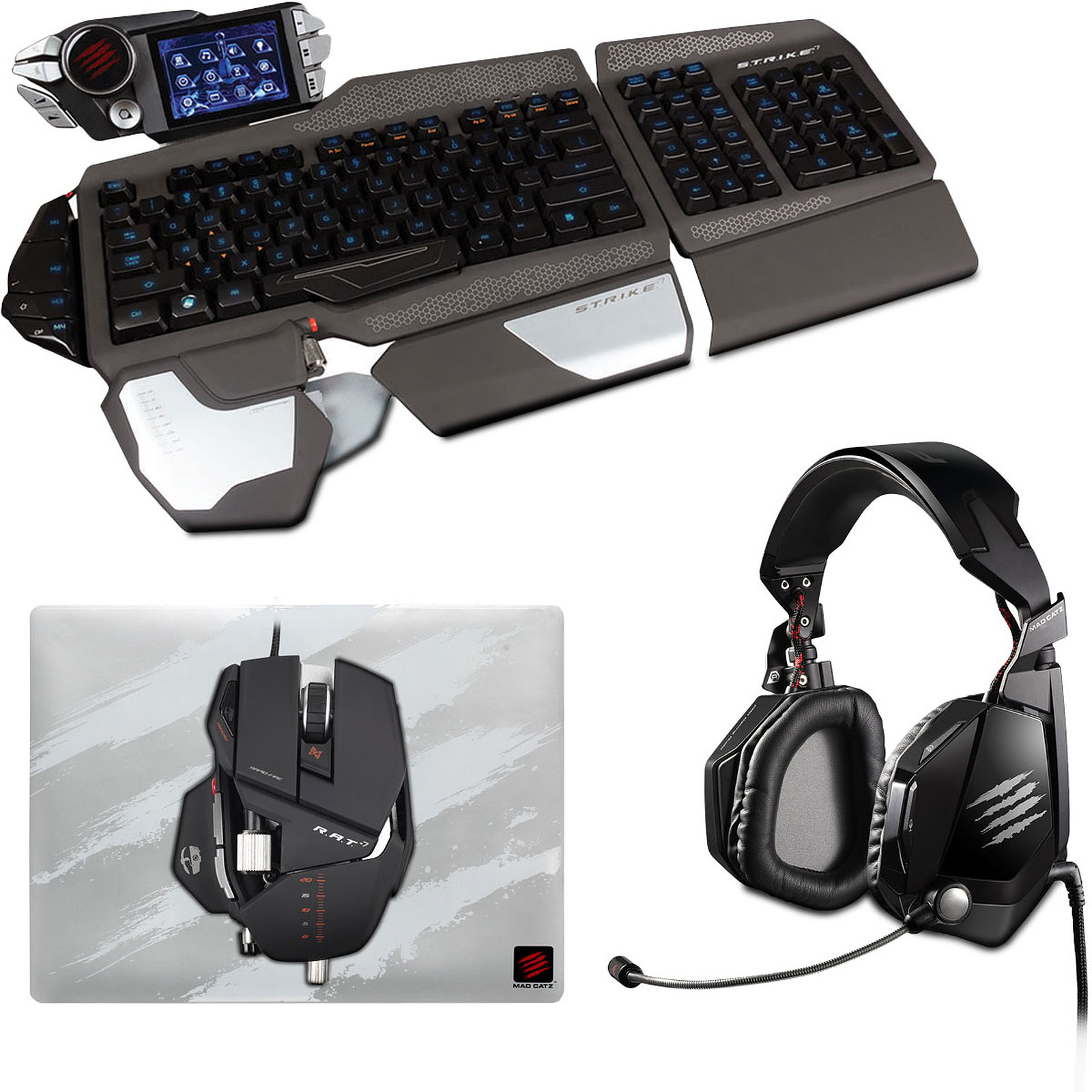 Jual Mad Catz Strike 7 Update 2018 Fujifilm X A2 Kit 16 50 Mm 16mp Wifi Brownsilverblack Pack Clavier Souris Sur