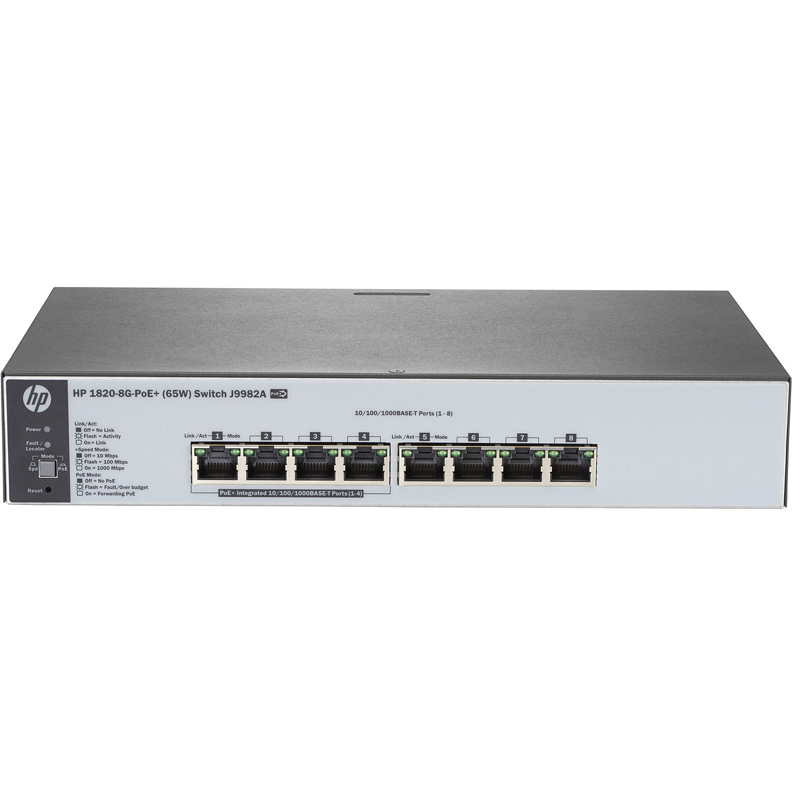 HPE OfficeConnect 1820-8G-PoE+ (65 W)