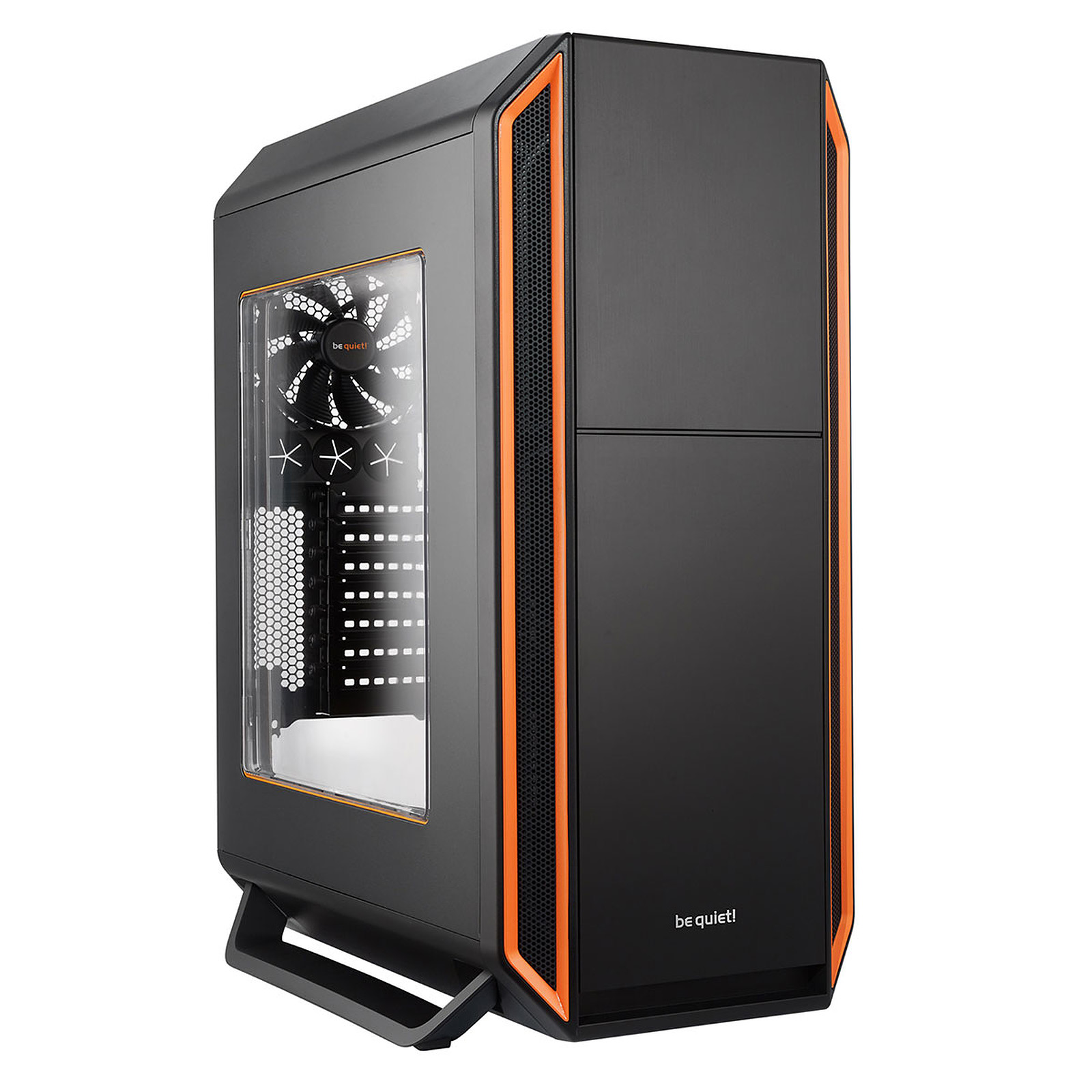be quiet! Silent Base 800 Window (Noir/Orange)