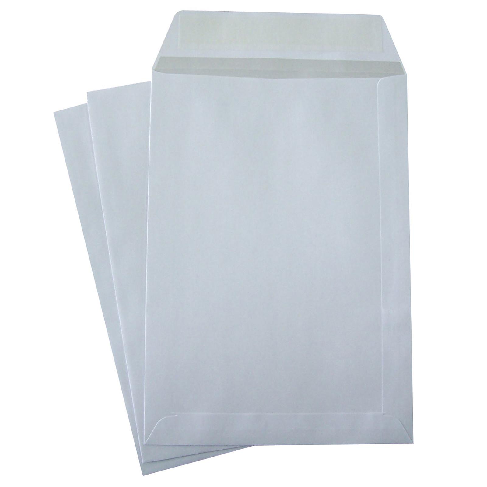 The White Vellum Pockets Crown C5 Autoadhesivo 90g x 50g