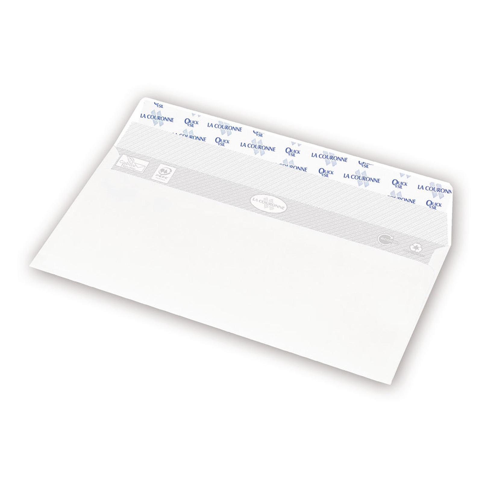 La Couronne 2 boîtes de 500 enveloppes DL pleine + 1 boite OFFERTE !