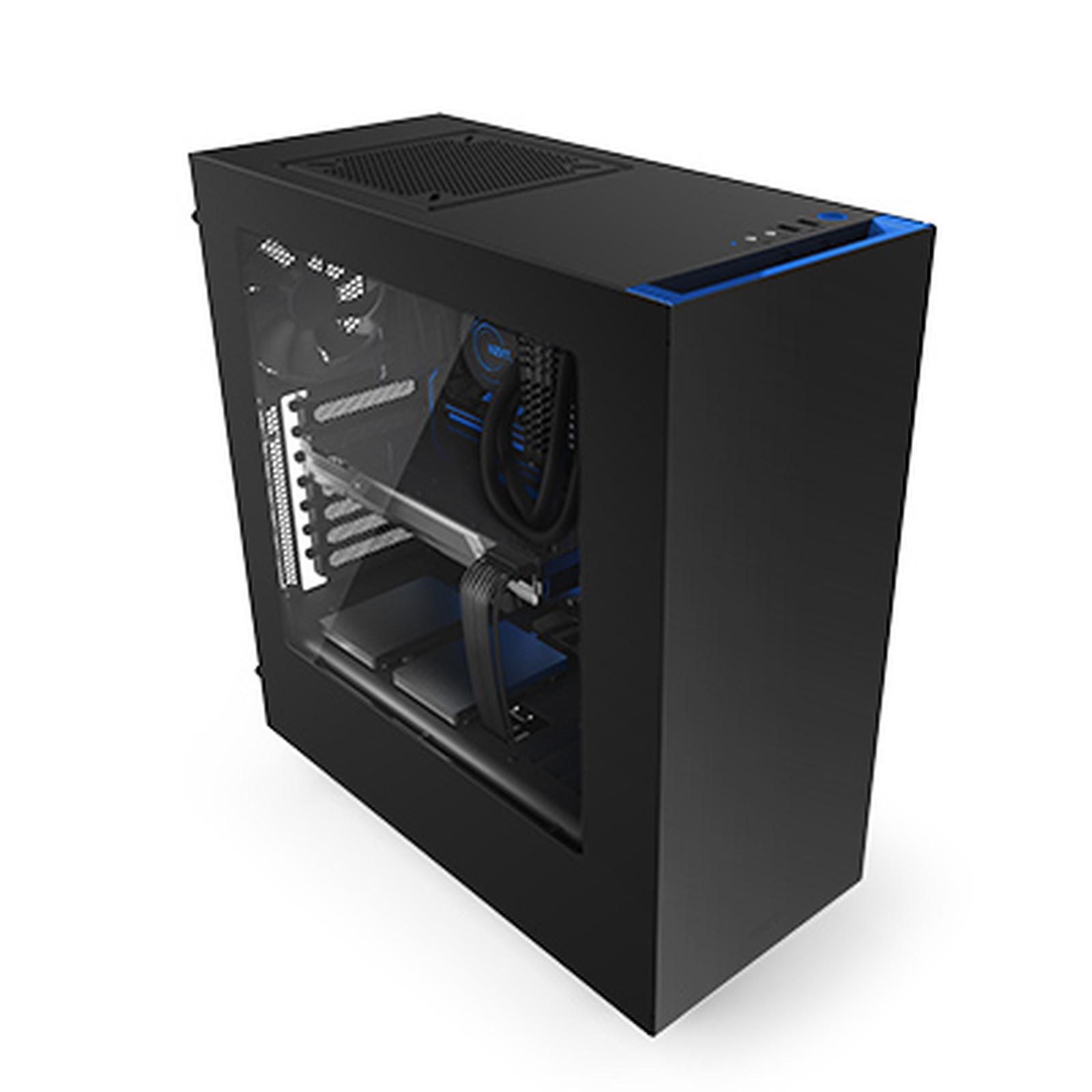 NZXT Source 340 - S340 (negro/azul)
