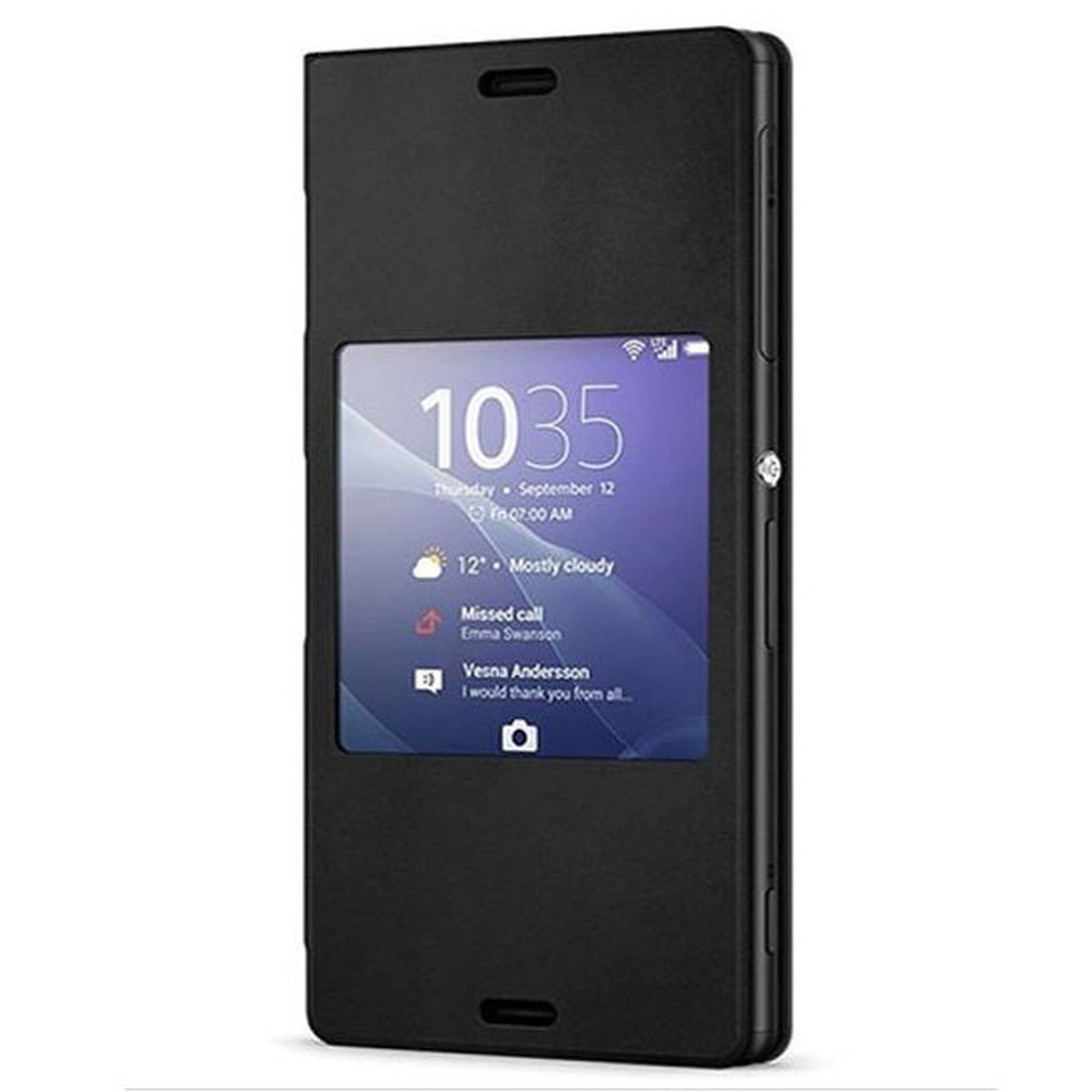Sony Style Up Noir Xperia Z3