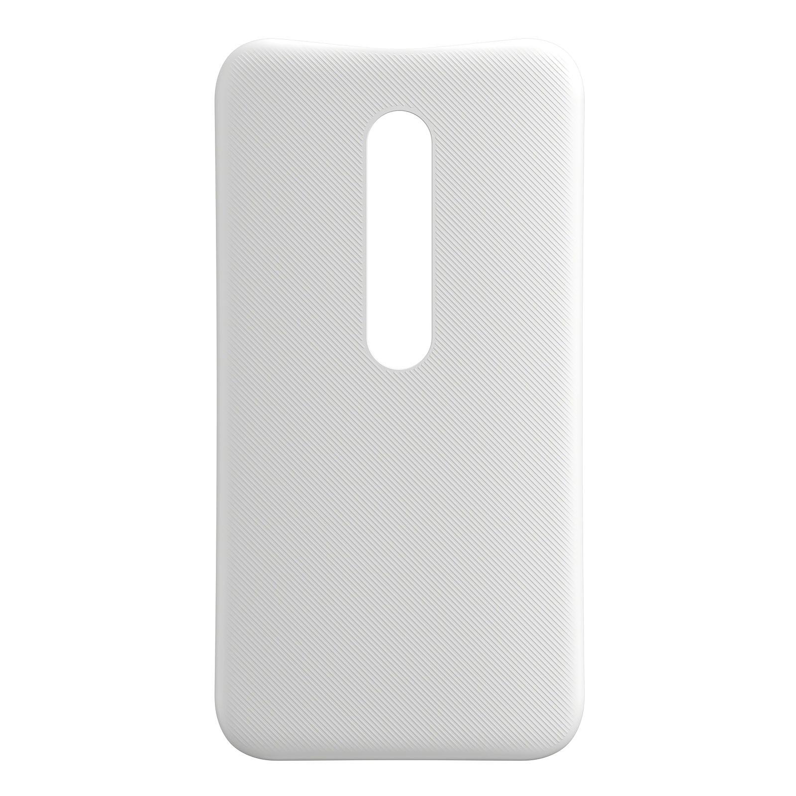 Motorola Coque d'origine Blanc Motorola Moto G 3ème Génération
