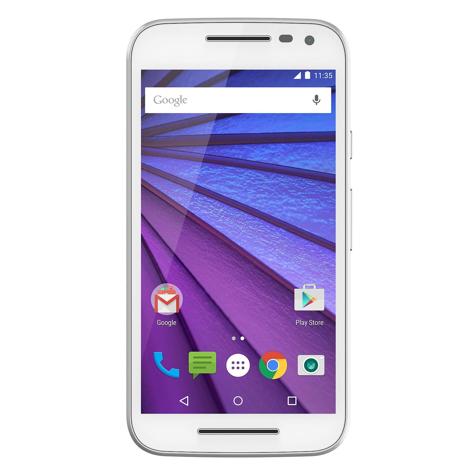 Motorola Moto G 3ème Génération 8 Go Blanc