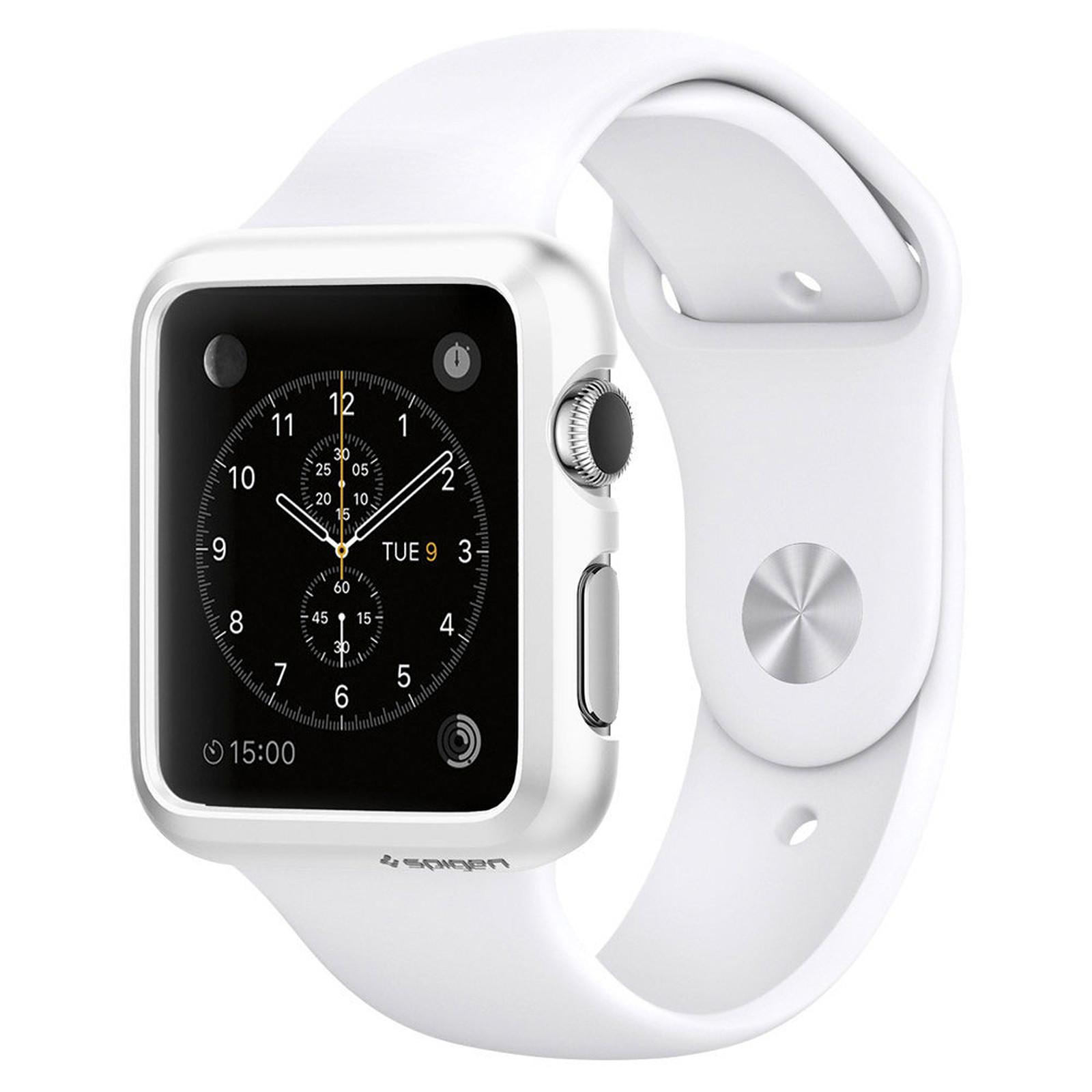 Spigen Apple Watch Case Thin Fit Blanc (42 mm)