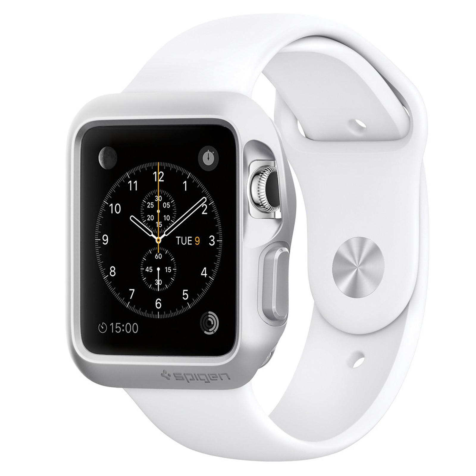 Spigen Apple Watch Case Slim Armor Argent (42 mm)