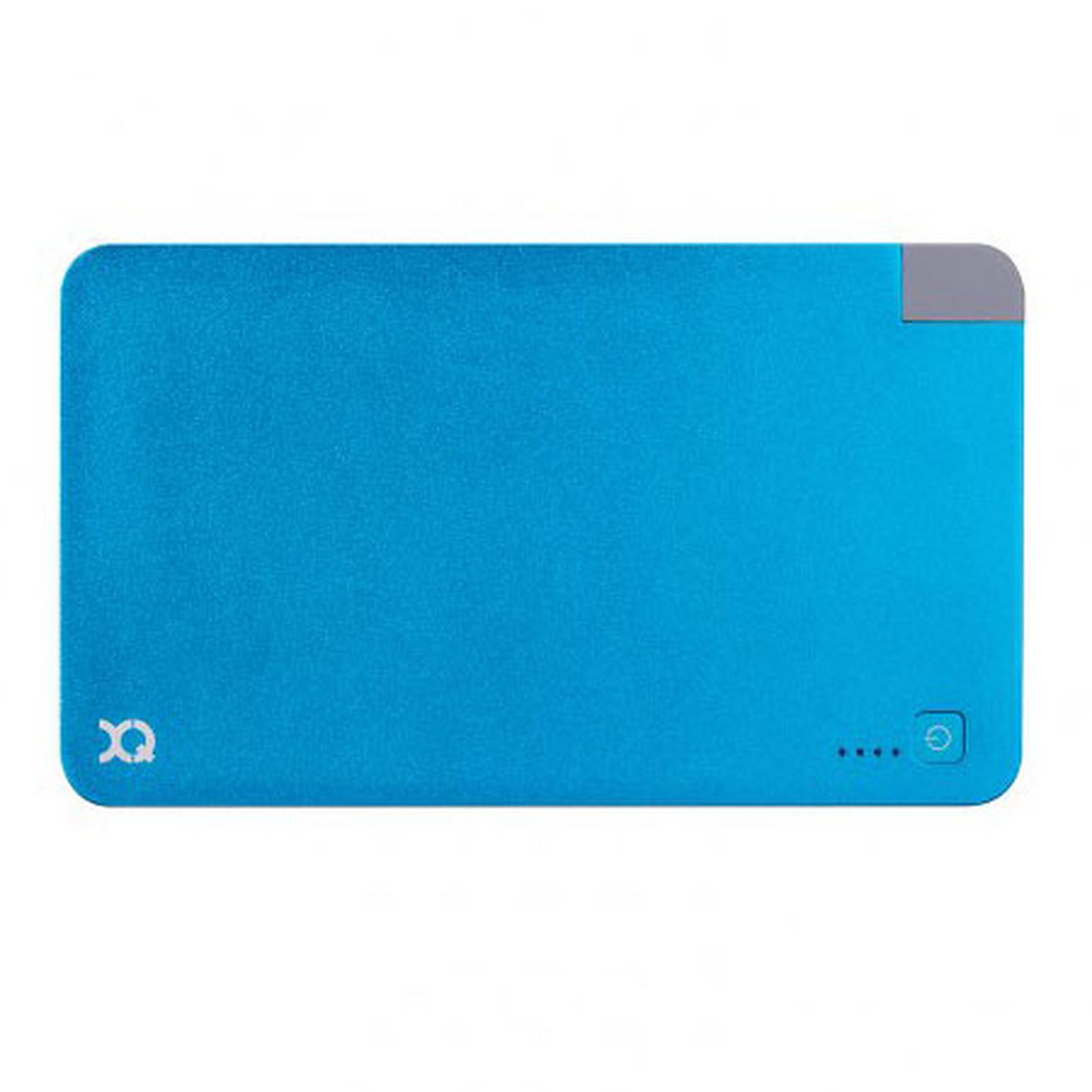 xqisit Power Bank 5000 mAh azul (Lightning)