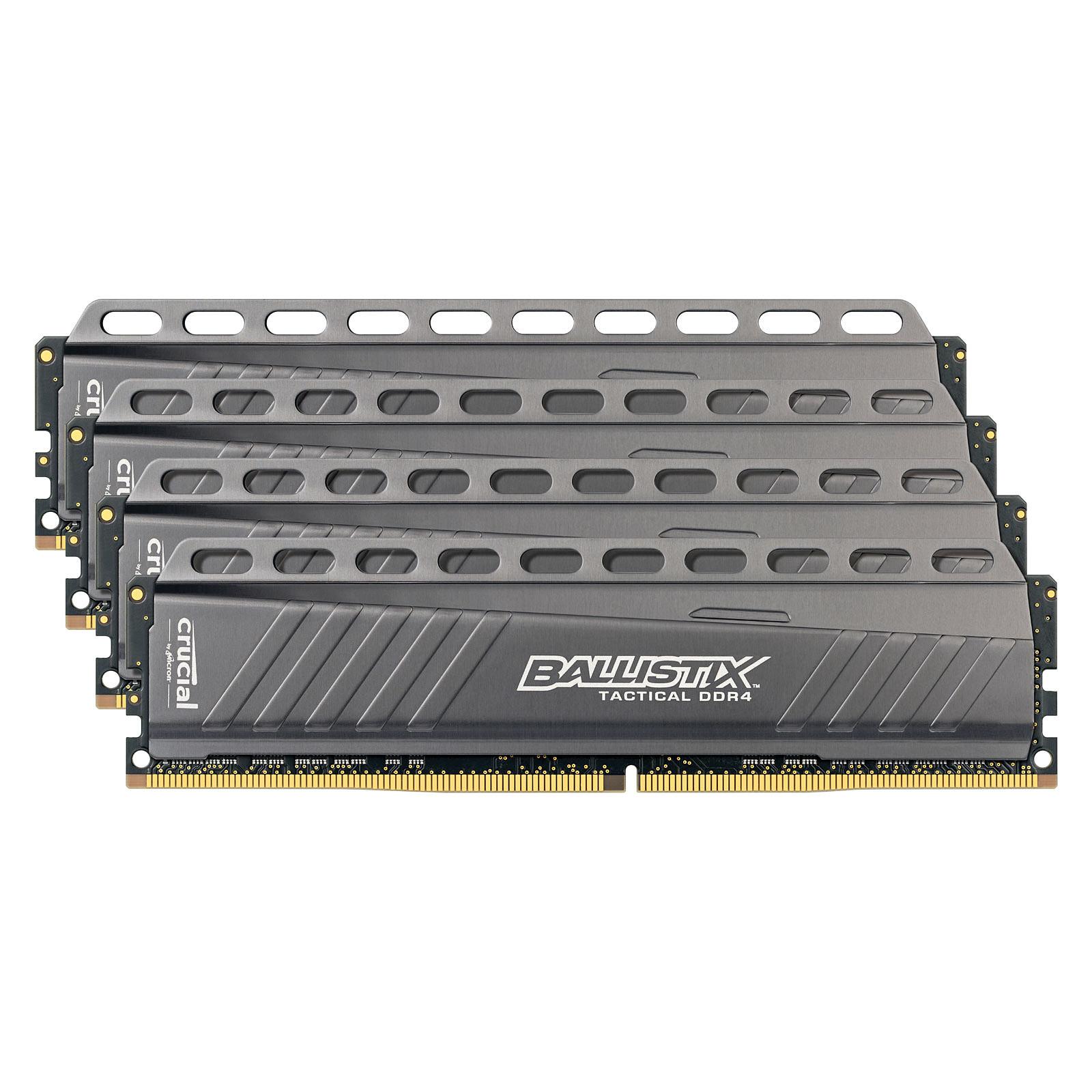 Ballistix Tactical 16 Go (4 x 4 Go) DDR4 2666 MHz CL16