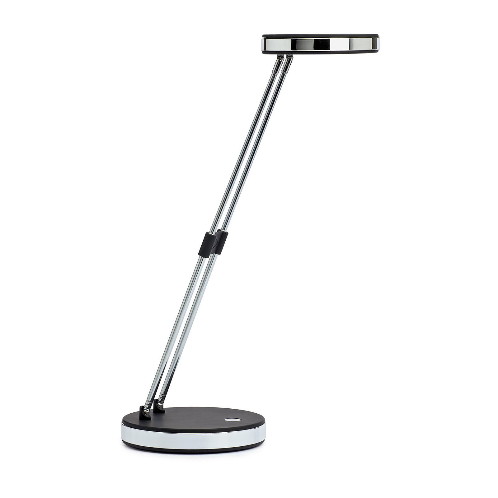 Maul Lampe LED Puck Noir