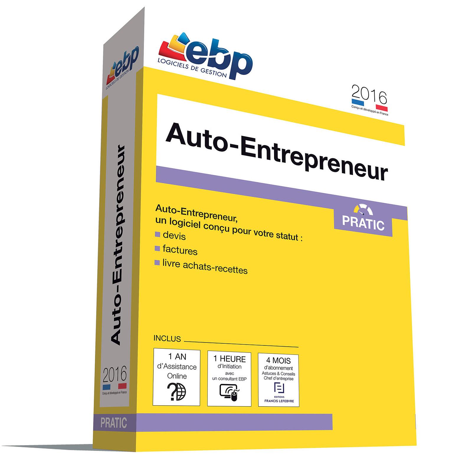 EBP Auto-Entrepreneur Pratic 2016 + Services VIP