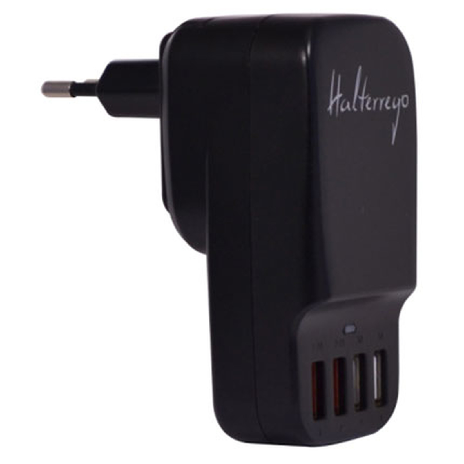 Halterrego chargeur multi USB (4 ports dont 2 de charge ultra-rapide) sur prise secteur