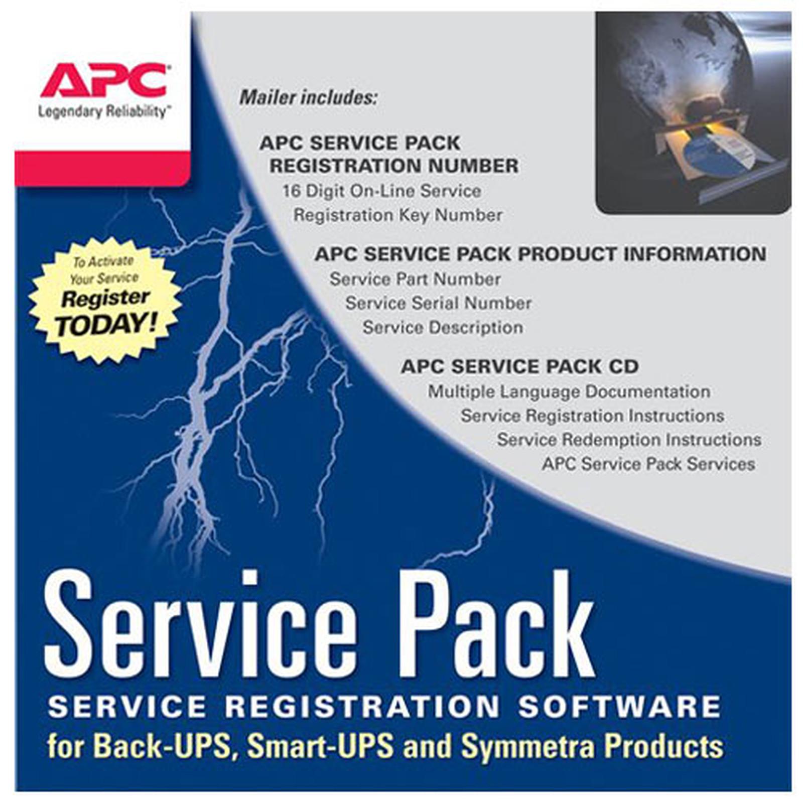 APC Extension de garantie 3 ans (WBEXTWAR3YR-SP-04)