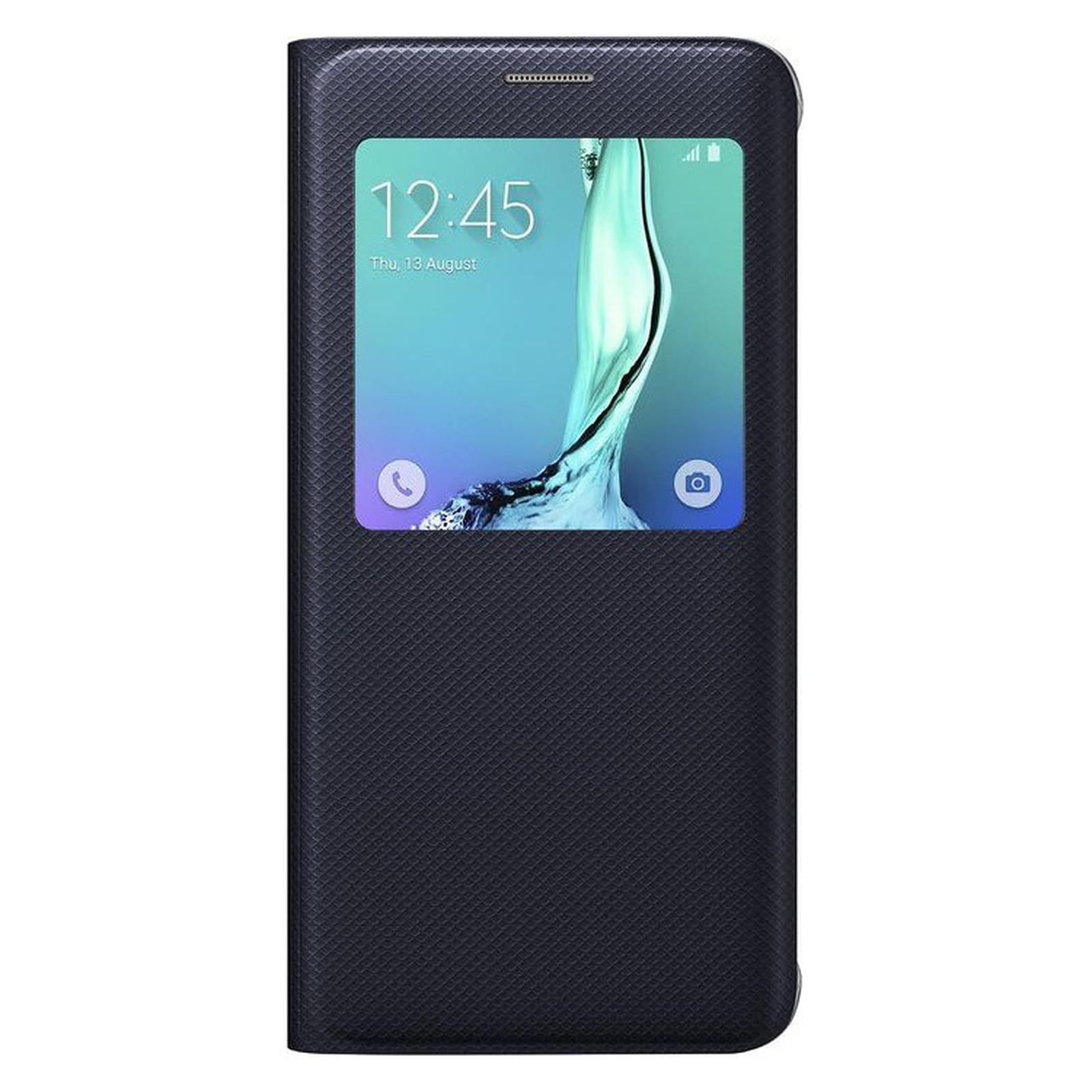 Samsung S-View Noir Galaxy S6 Edge+