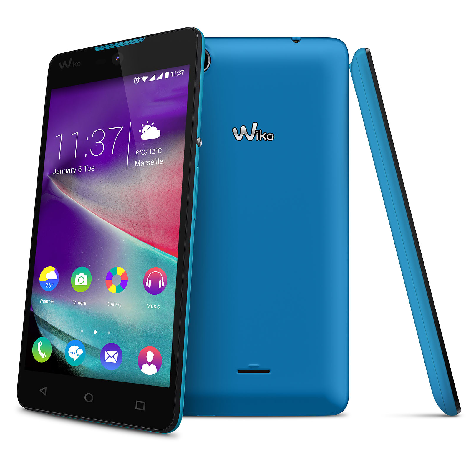 Wiko Rainbow Lite 4G Bleu
