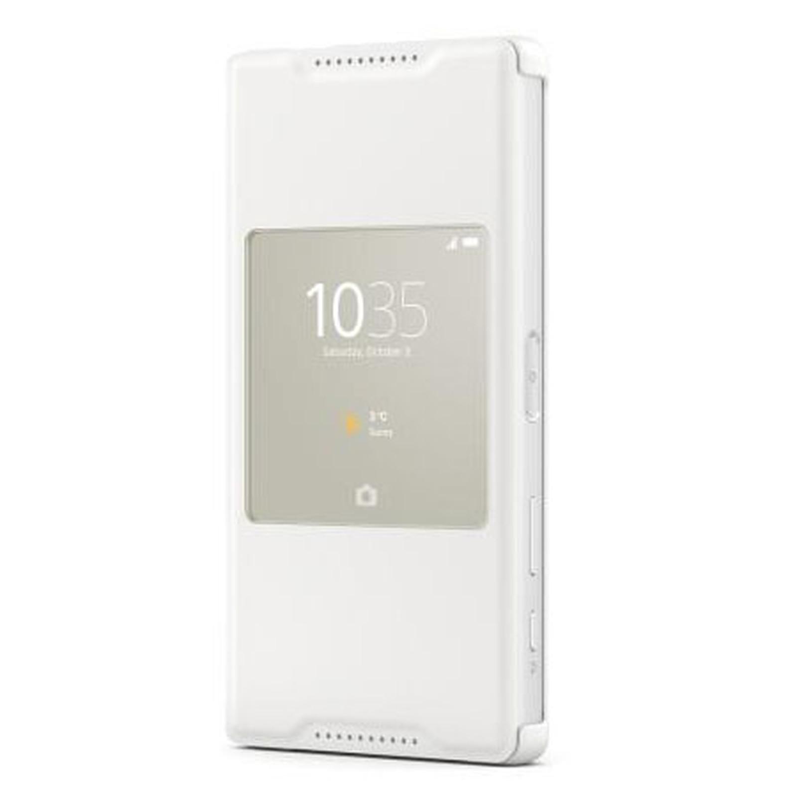 Sony Style Up Blanc Sony Xperia Z5 Compact