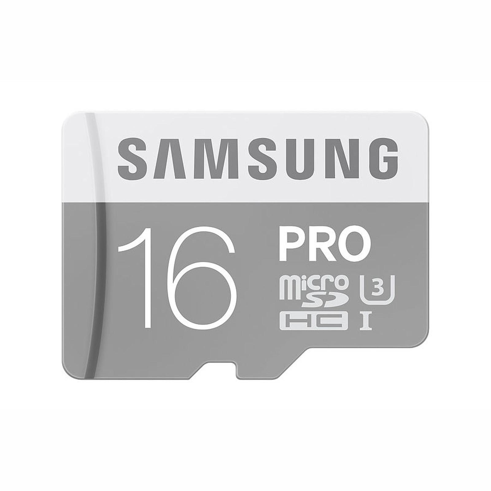 Samsung Pro U3 microSDHC 16 Go