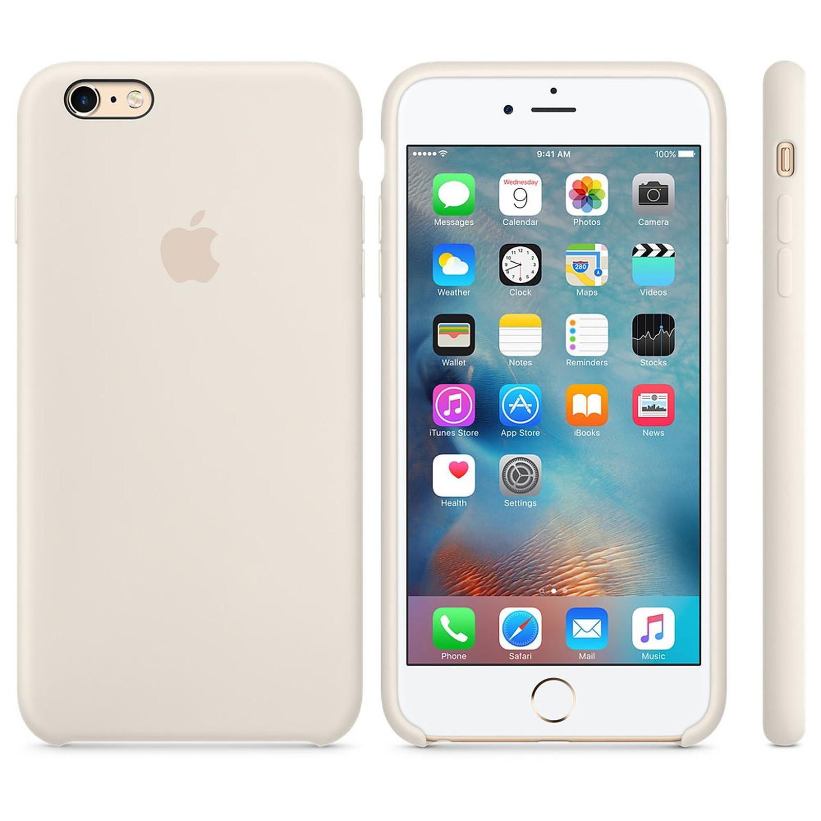 Apple Coque en silicone Blanc antique Apple iPhone 6s