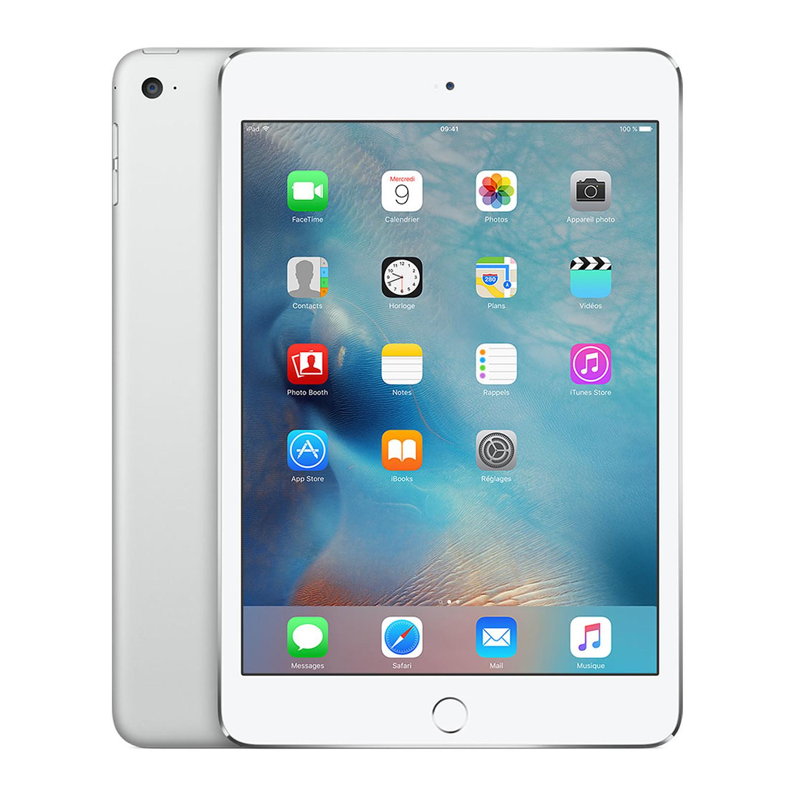 Apple iPad mini 4 avec écran Retina Wi-Fi + Cellular 16 Go Argent