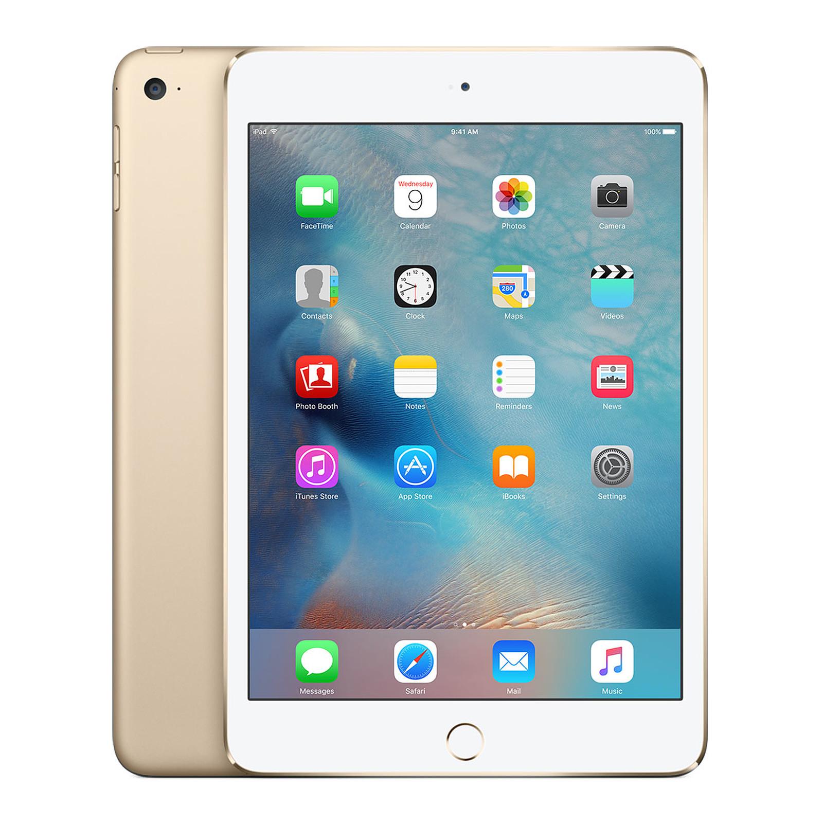 Apple Ipad Mini 4 Avec Ecran Retina Wi Fi Cellular 128 Go Or