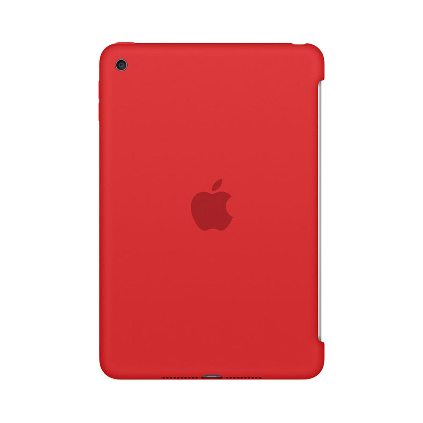 Apple iPad mini 4 Silicone Case Rouge