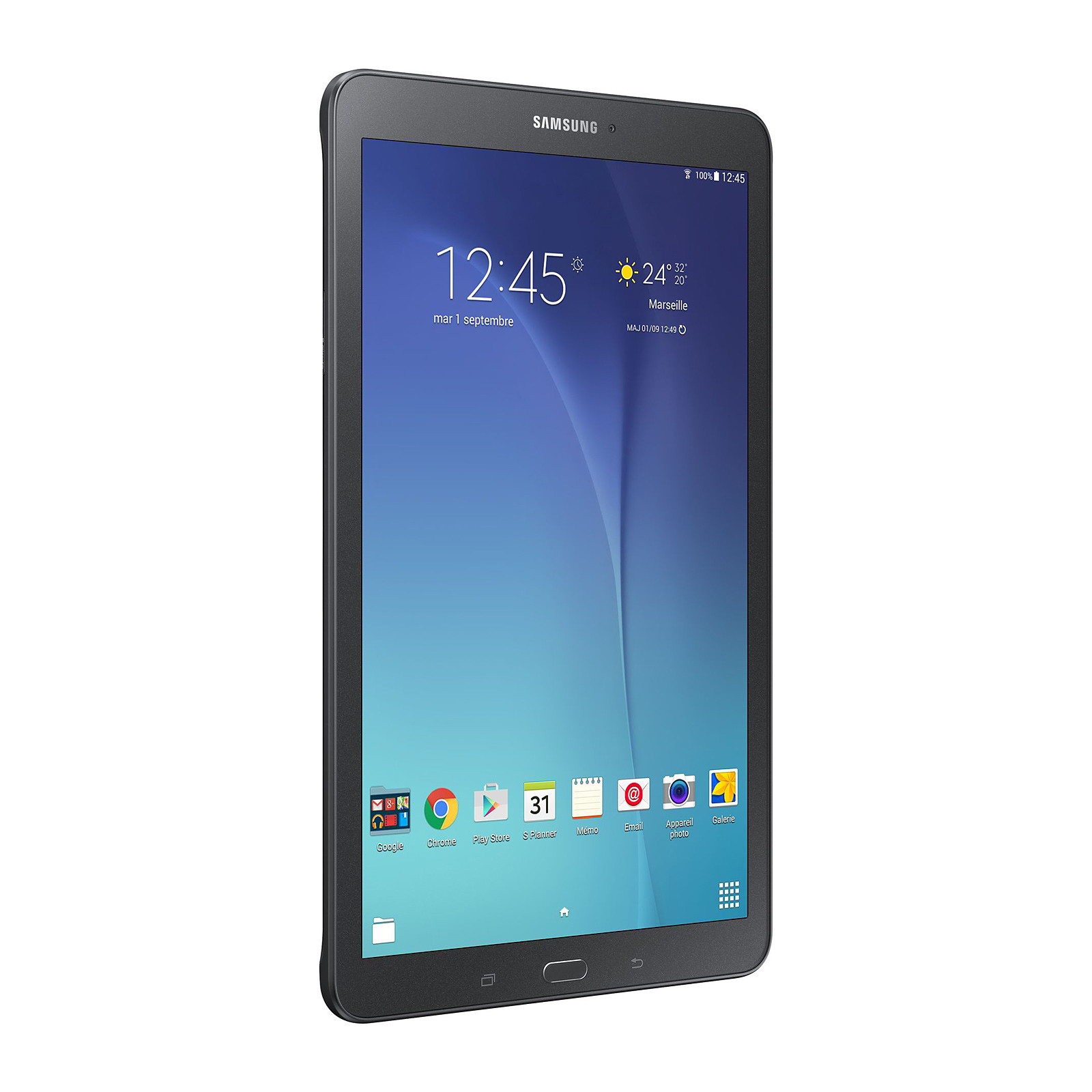 "Samsung Galaxy Tab E 9.6"" SM-T560 8 Go negro"