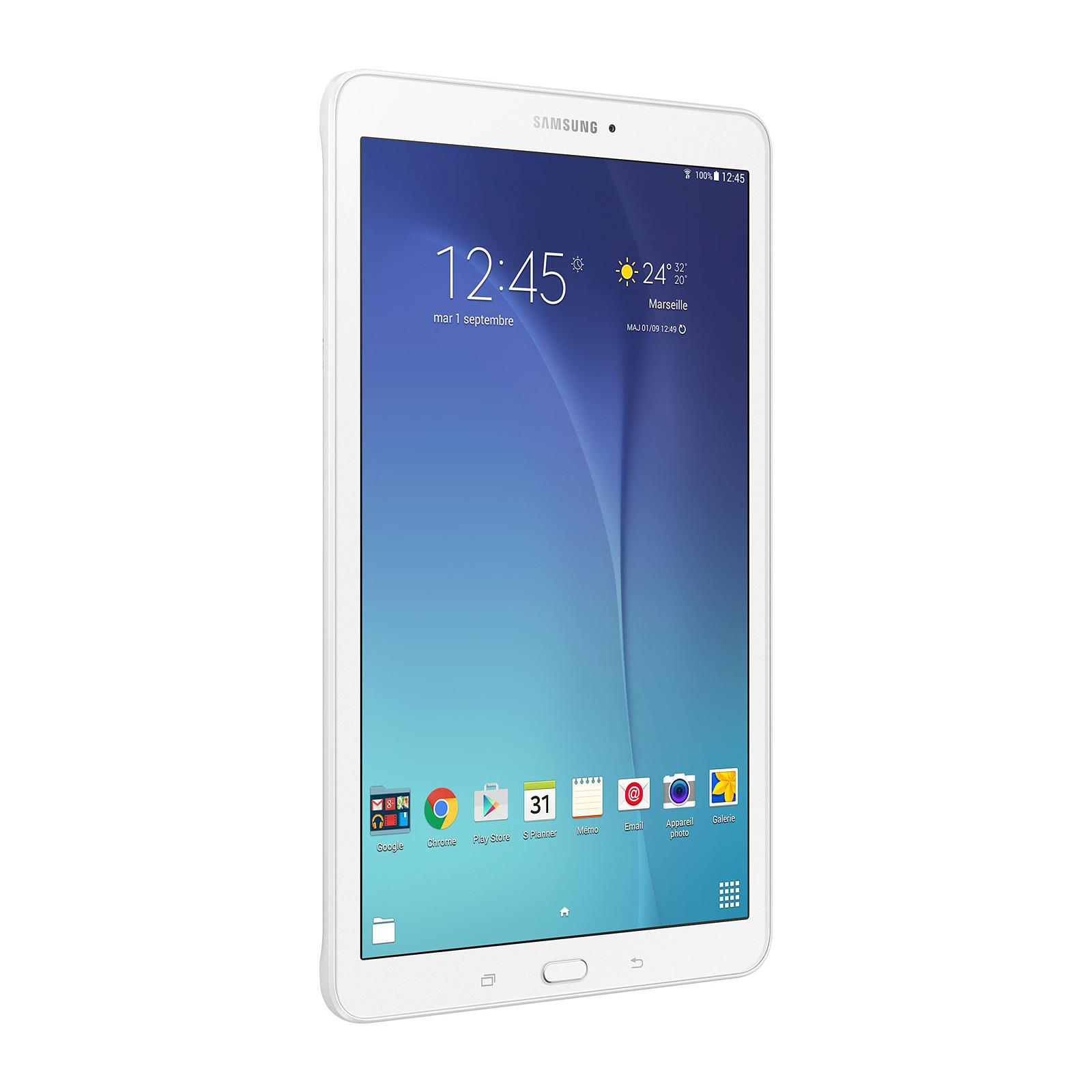 """Samsung Galaxy Tab E 9.6"""" SM-T560 8 Go Blanc"""