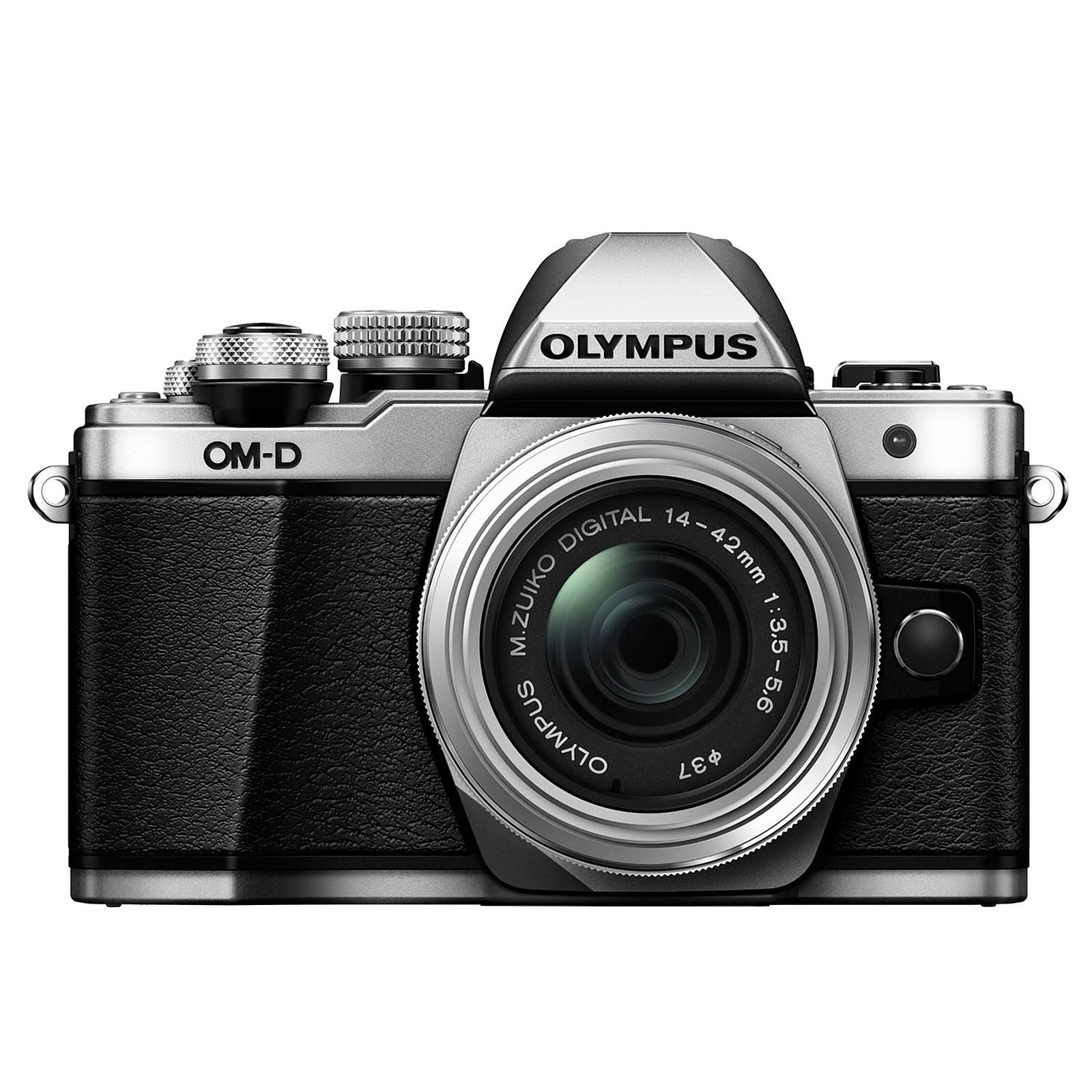 Olympus E-M10 MK II Argent + 14-42mm pancake