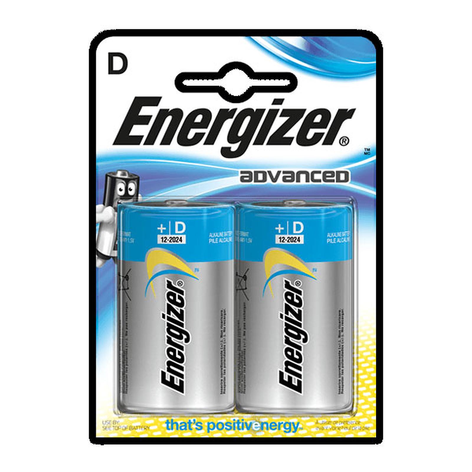Energizer Advanced D (2 unidades)