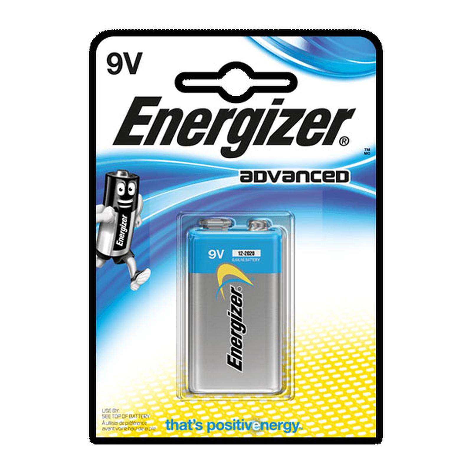 Energizer Advanced 9V (à l'unité)