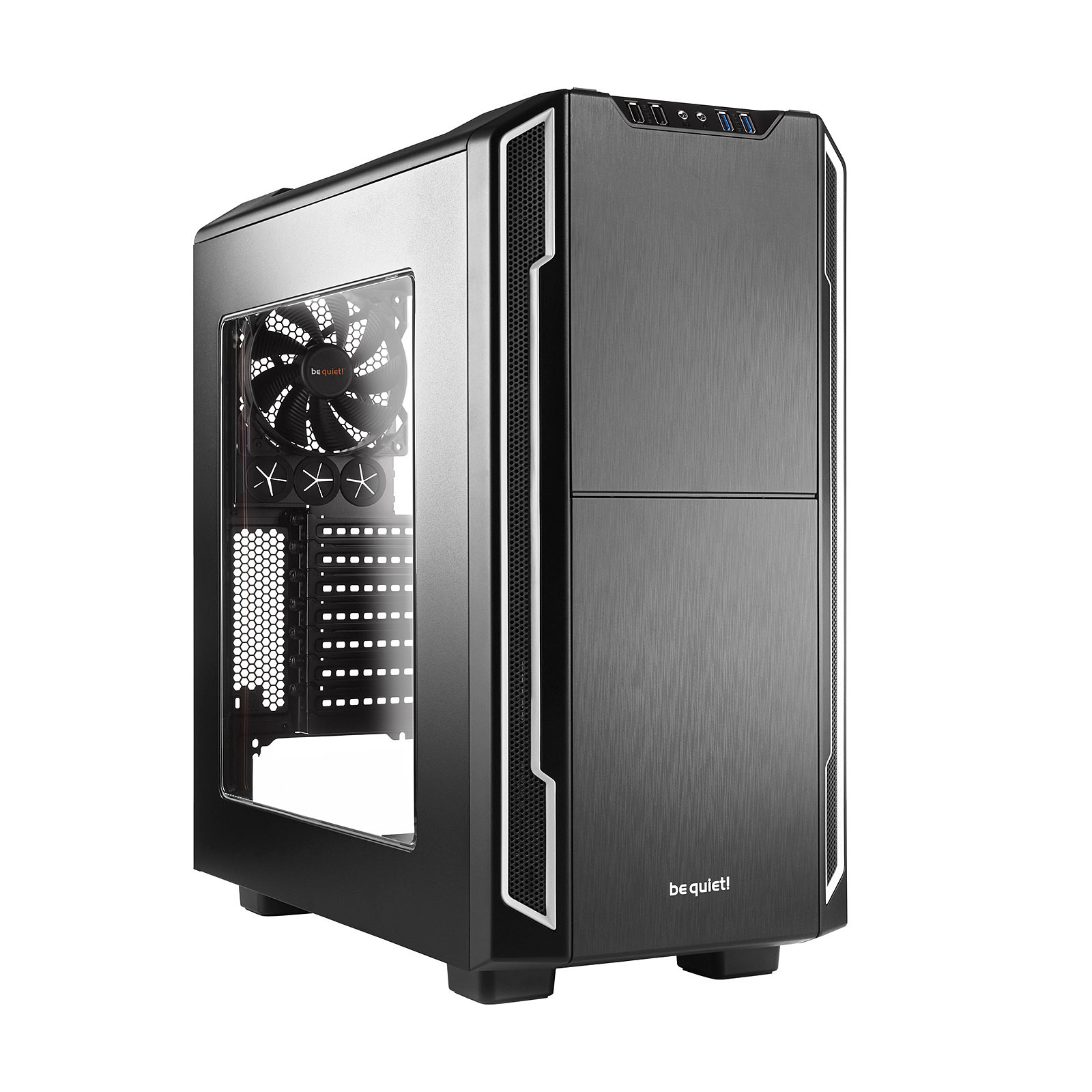 be quiet! Silent Base 600 Window (Silver)