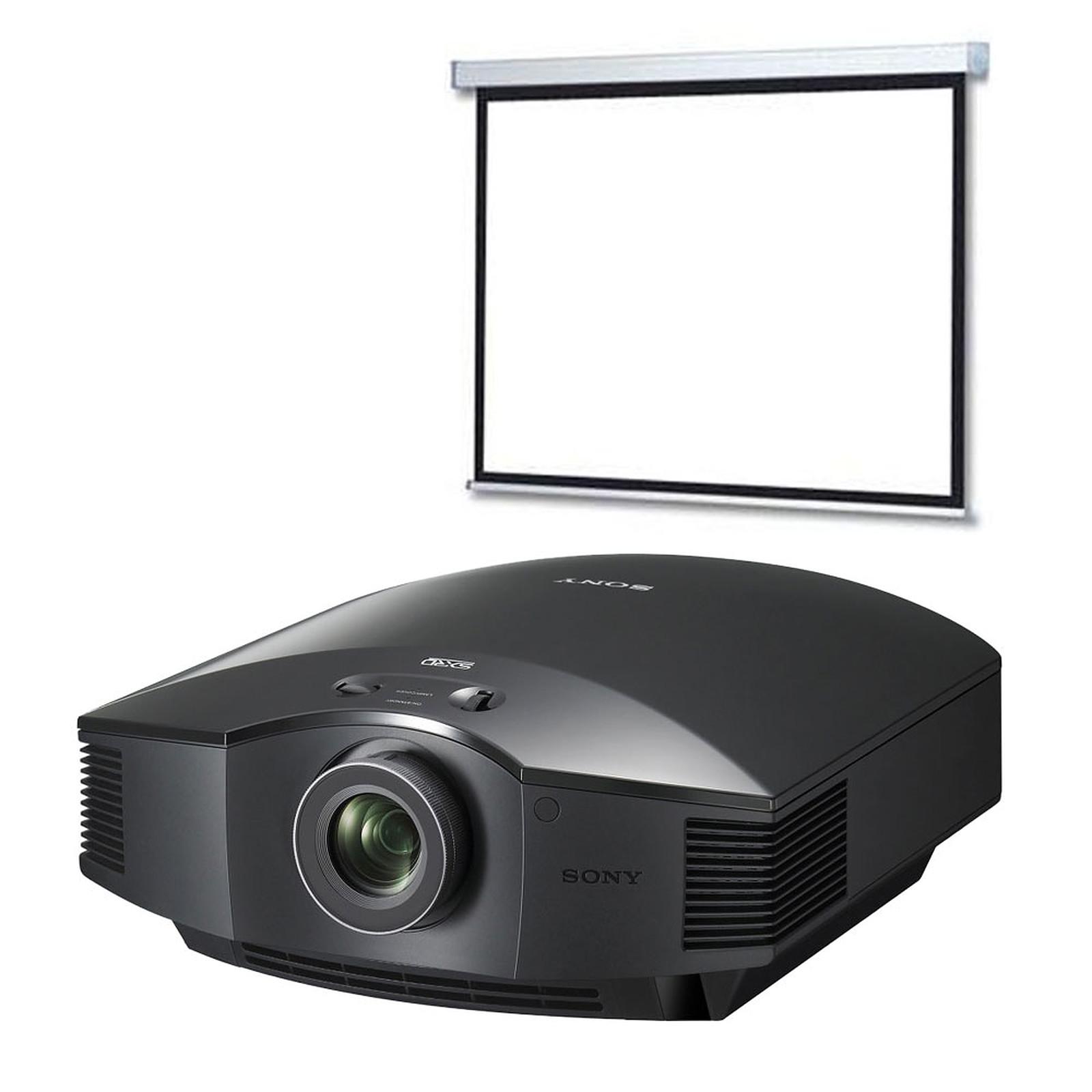 Sony VPL-HW55ES Noir + LDLC Écran motorisé 16:9 - 240 x 135 cm