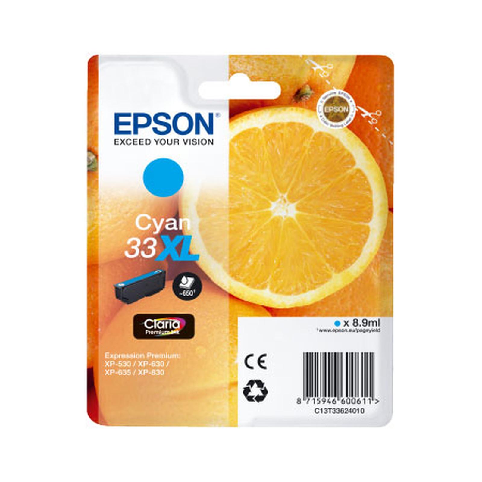 """Epson """"Oranges"""" 33 XL Magenta (C13T33624010)"""