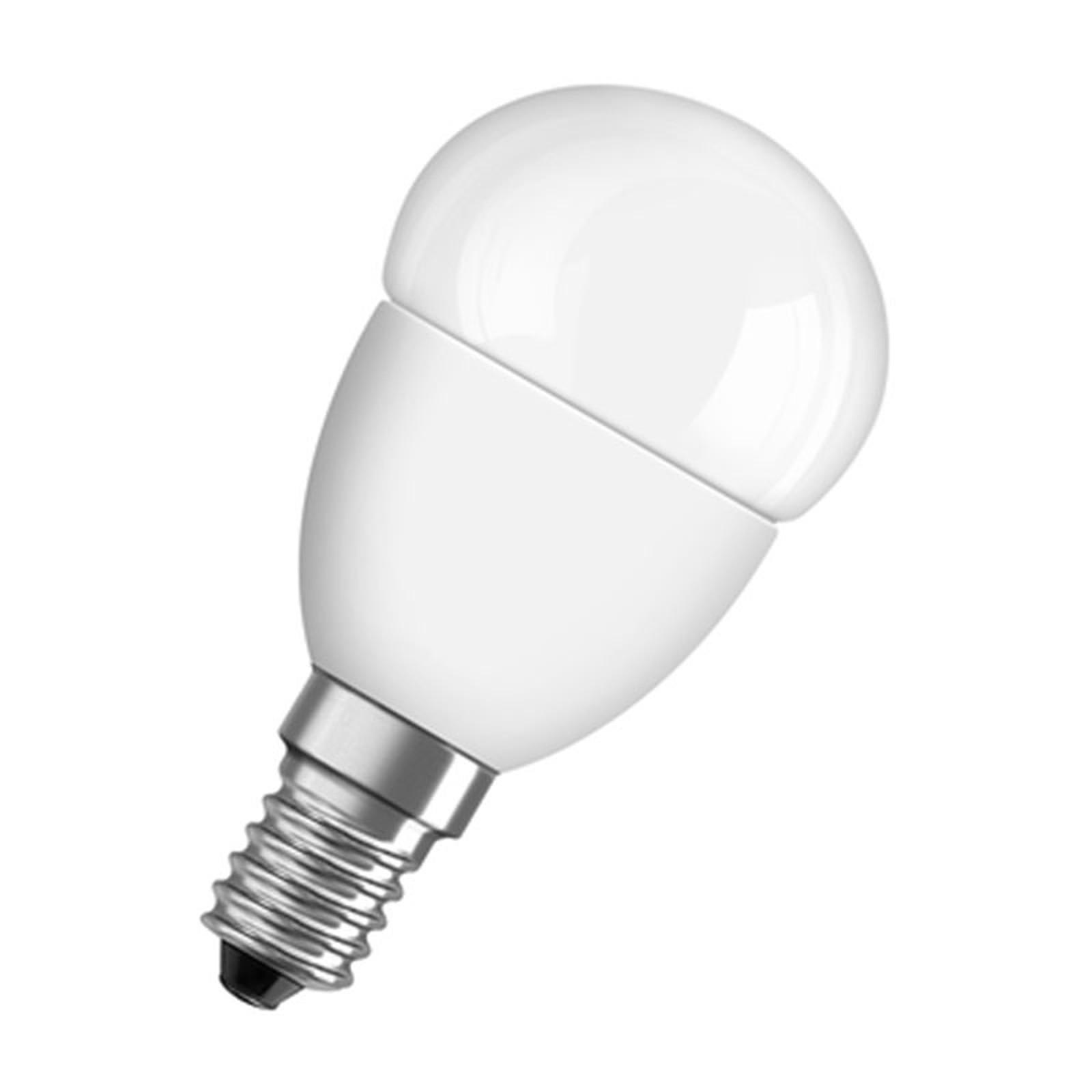 Osram Ampoule Led Retrofit Standard E27 4w 40w A: OSRAM Ampoule LED Superstar Sphérique E14 6W (40W) A