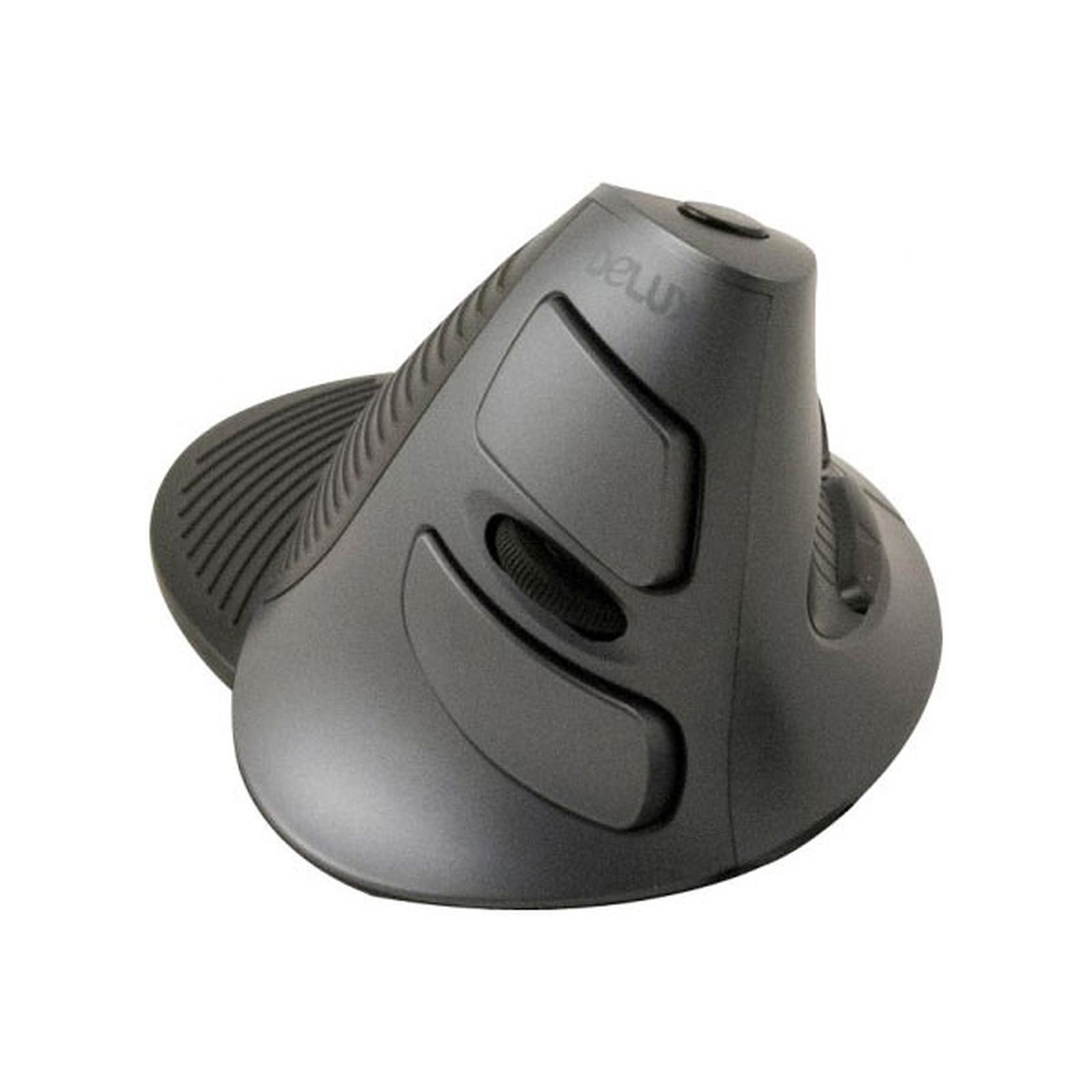 Souris ergonomique verticale sans fil (noire)