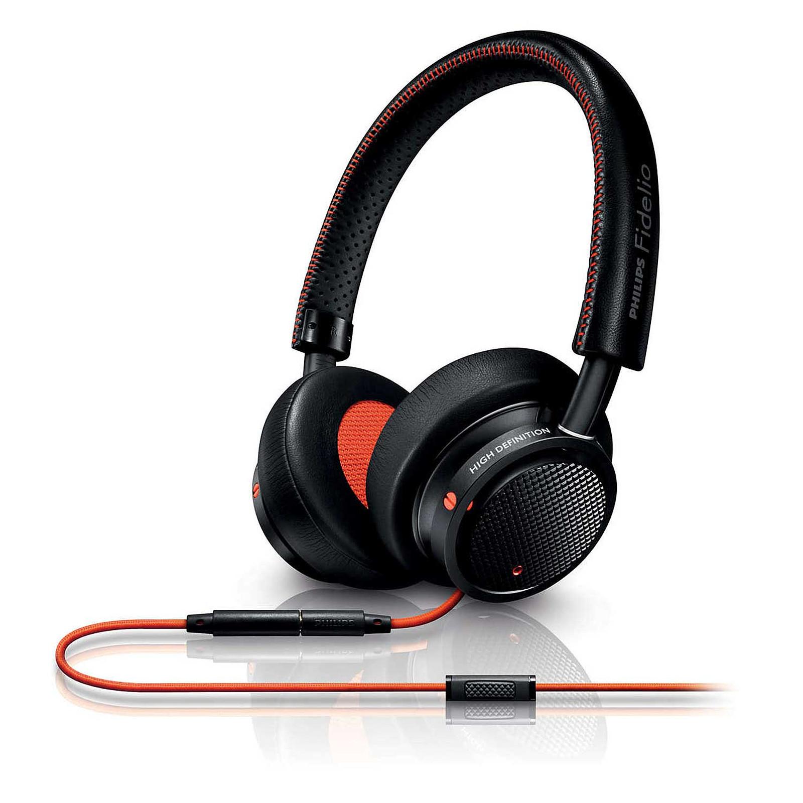 Philips Fidelio M1 MKII Noir/Orange