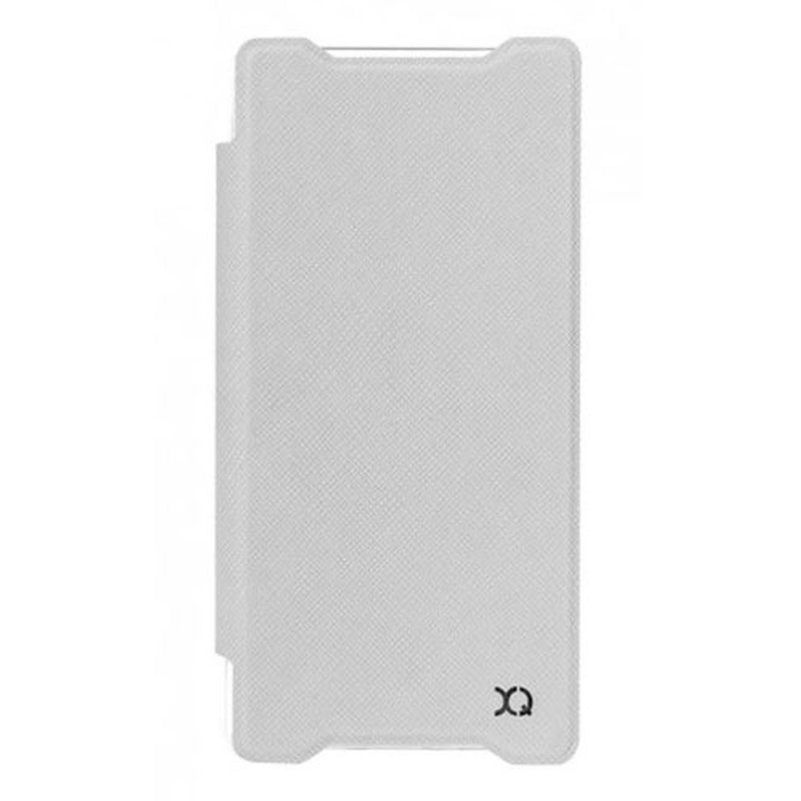 xqisit Etui Flap Cover Adour Blanc Sony Xperia Z5